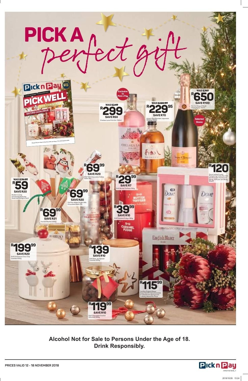 Pick n Pay catalogue  - 11.12.2018 - 11.18.2018. Page 7.