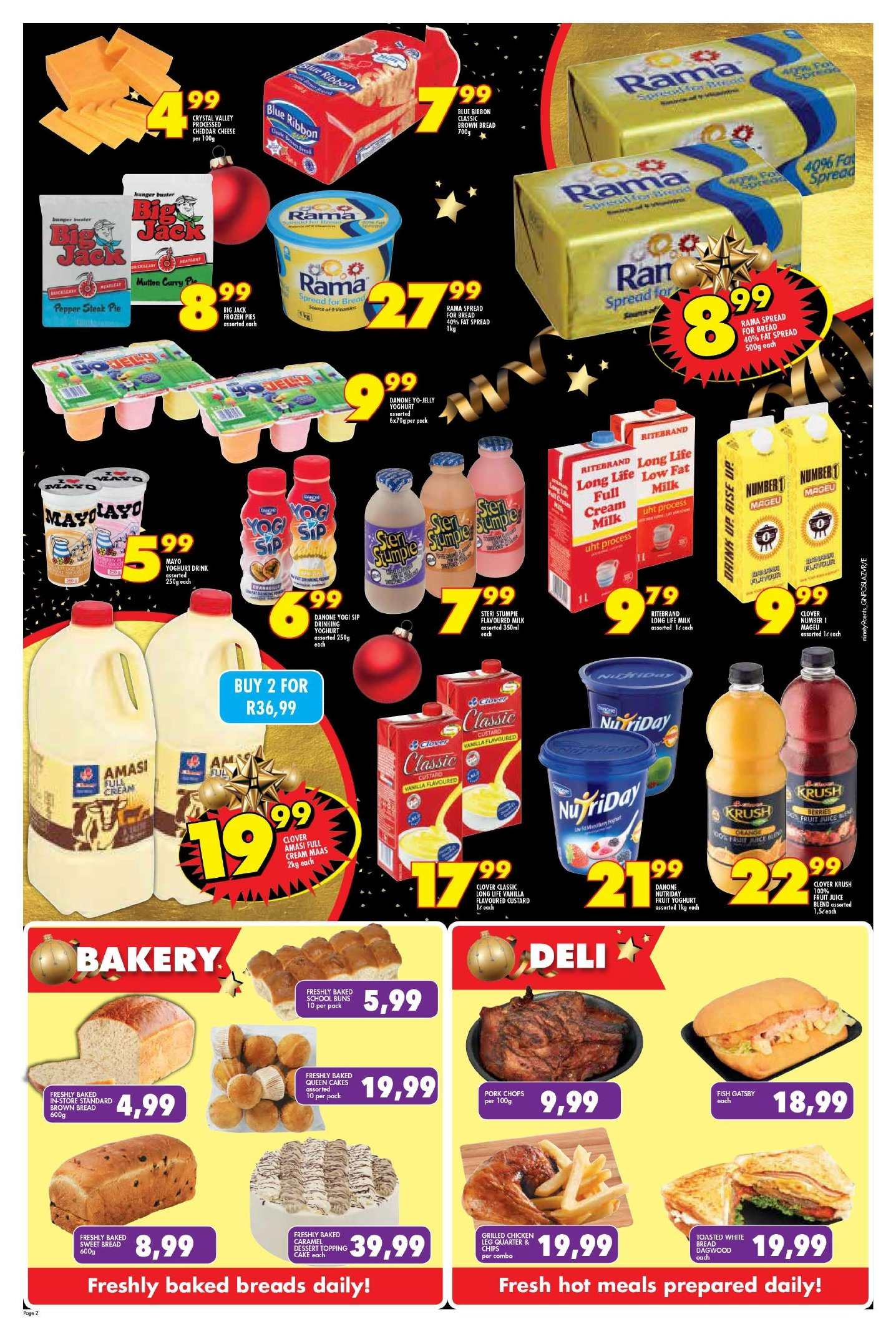 Shoprite catalogue  - 11.22.2018 - 11.25.2018. Page 2.