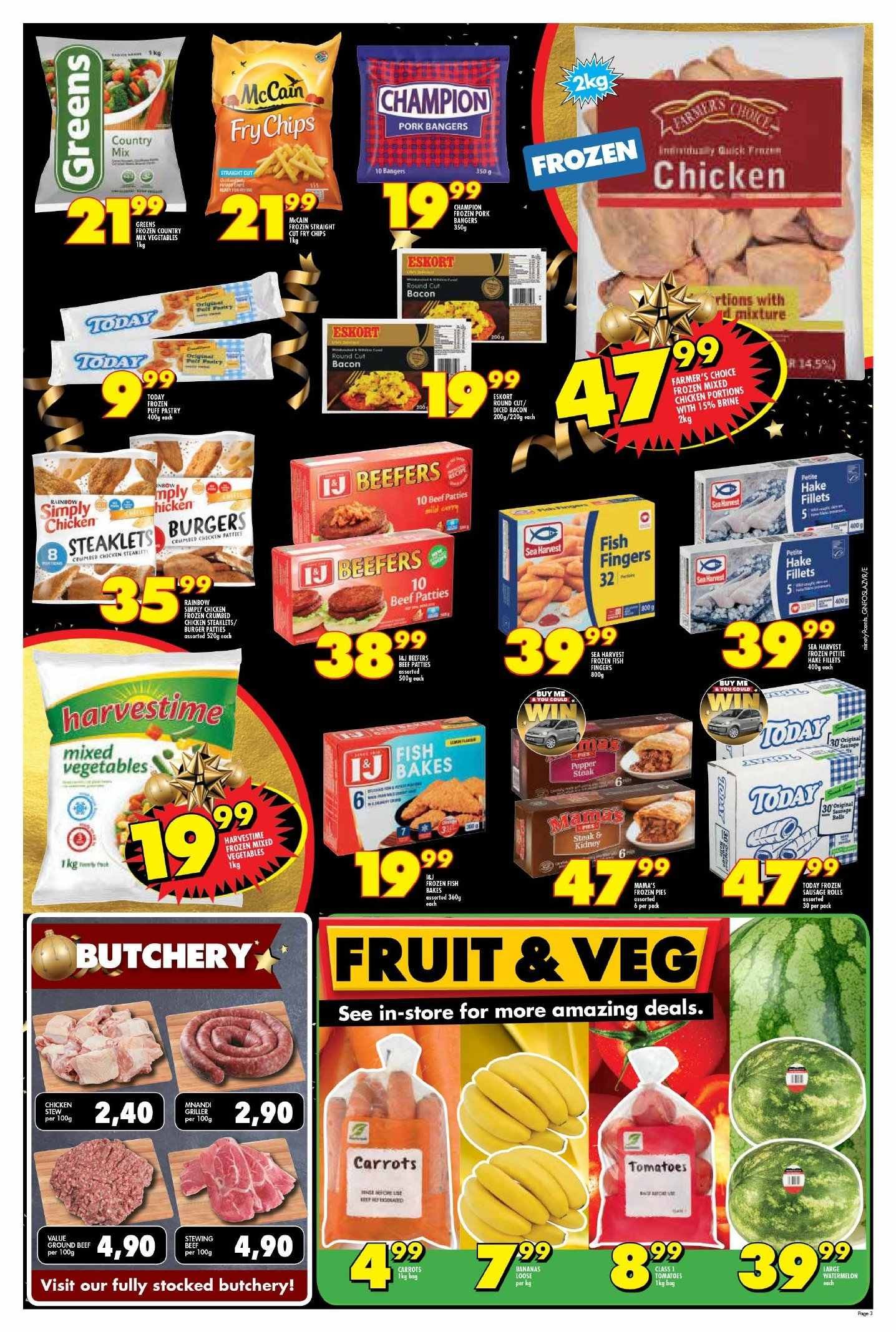 Shoprite catalogue  - 11.22.2018 - 11.25.2018. Page 3.