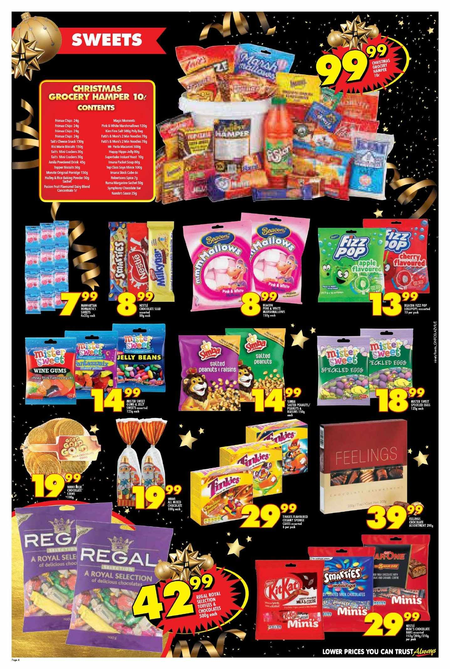 Shoprite catalogue  - 11.22.2018 - 11.25.2018. Page 4.