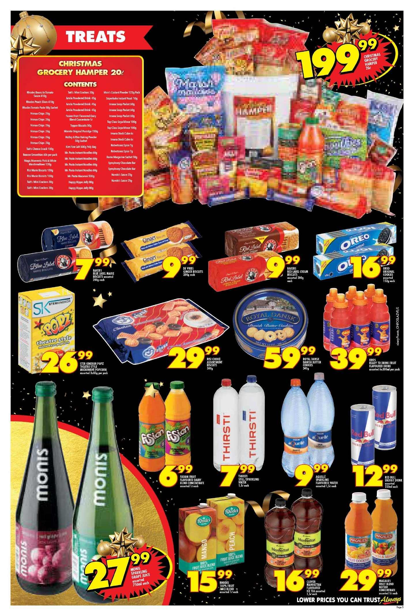 Shoprite catalogue  - 11.22.2018 - 11.25.2018. Page 5.