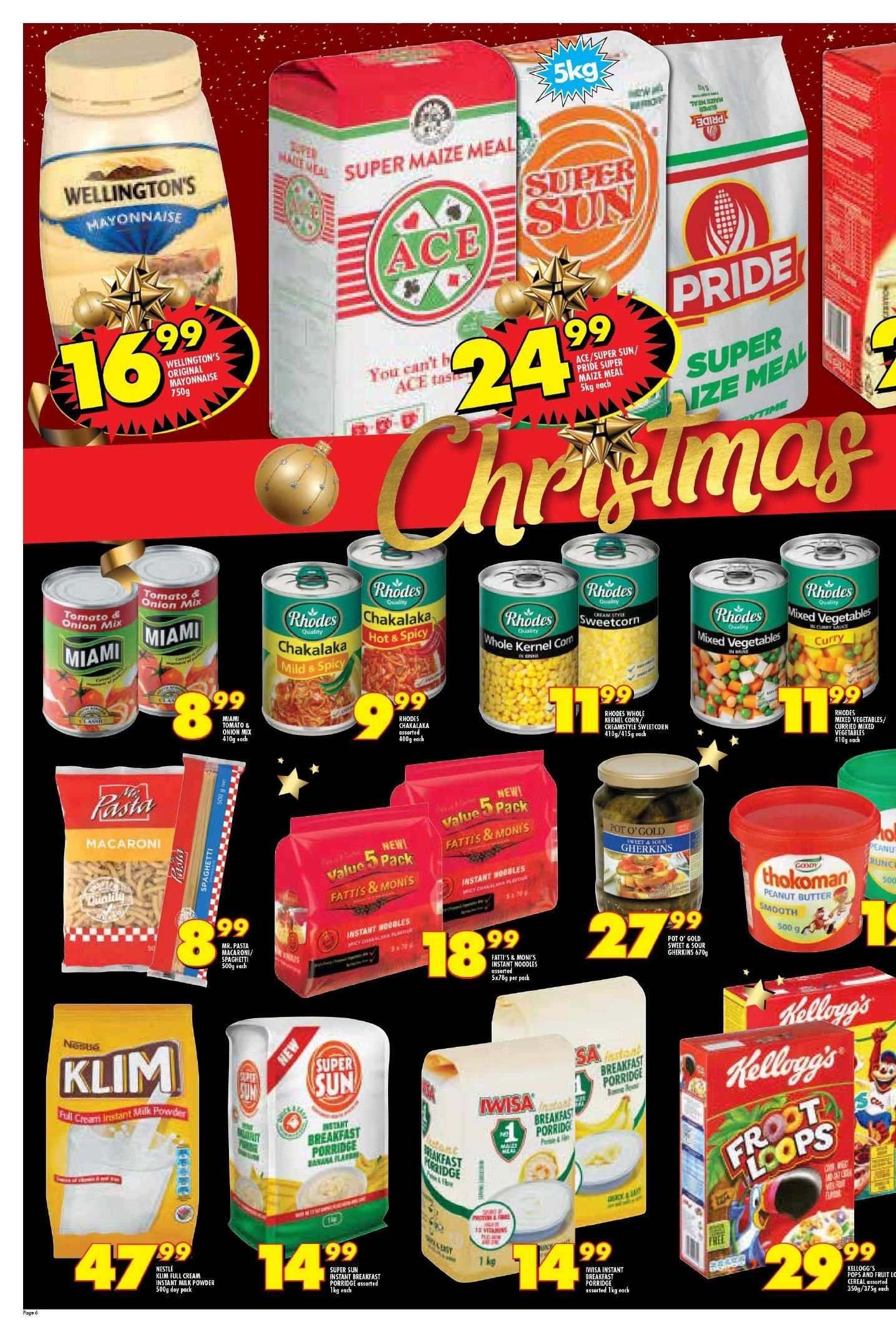 Shoprite catalogue  - 11.22.2018 - 11.25.2018. Page 6.