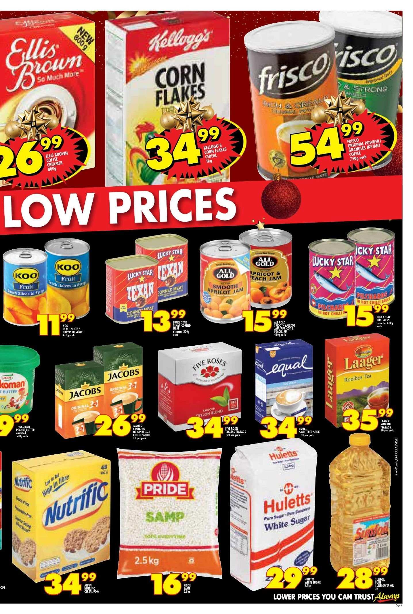 Shoprite catalogue  - 11.22.2018 - 11.25.2018. Page 7.