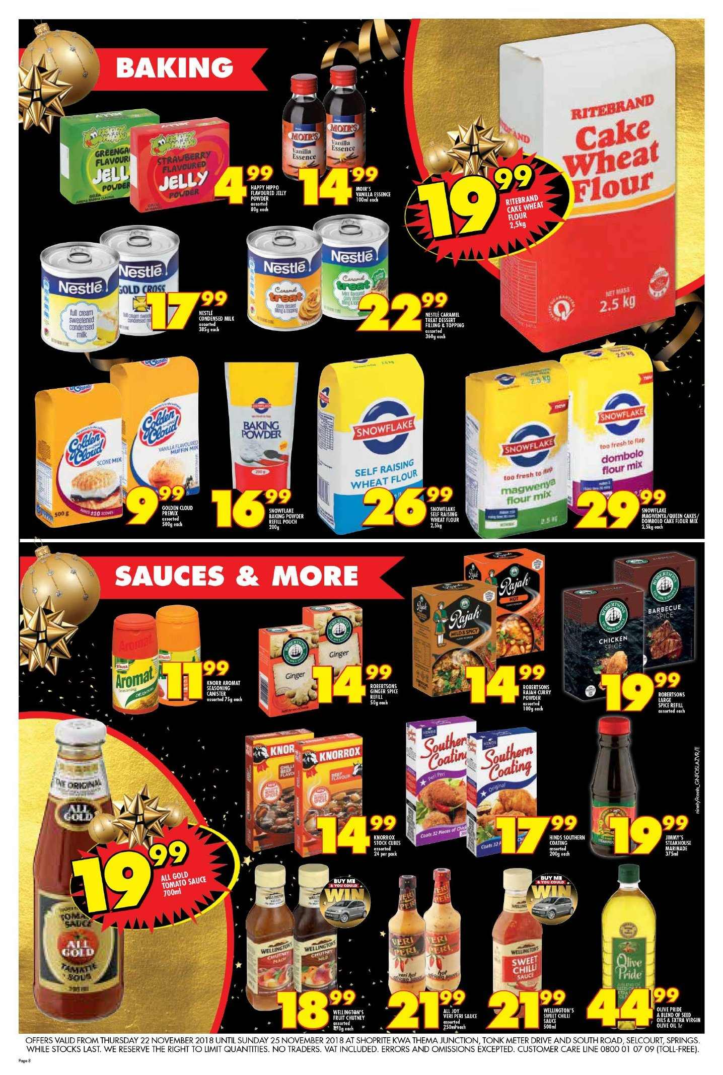 Shoprite catalogue  - 11.22.2018 - 11.25.2018. Page 8.