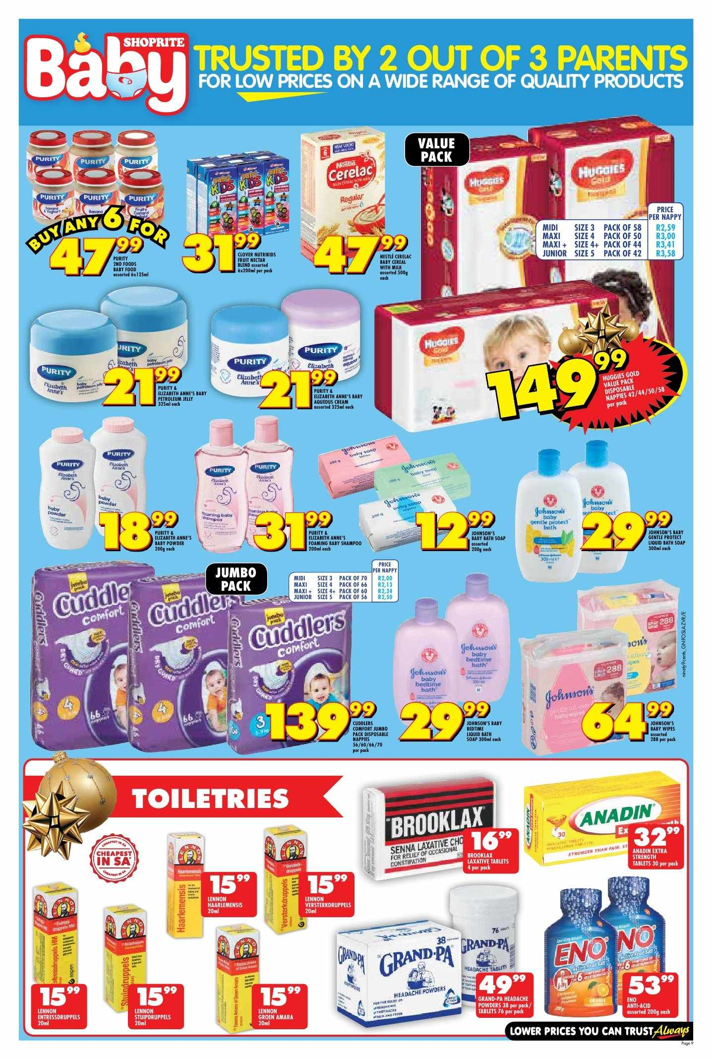 Shoprite catalogue  - 11.22.2018 - 11.25.2018. Page 9.