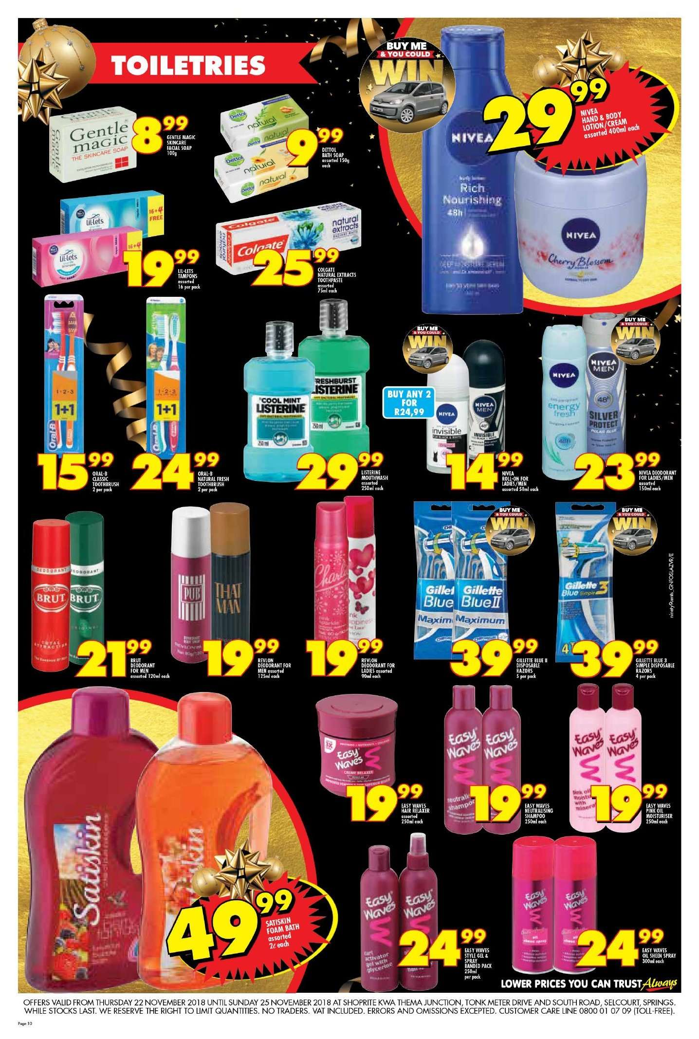 Shoprite catalogue  - 11.22.2018 - 11.25.2018. Page 10.