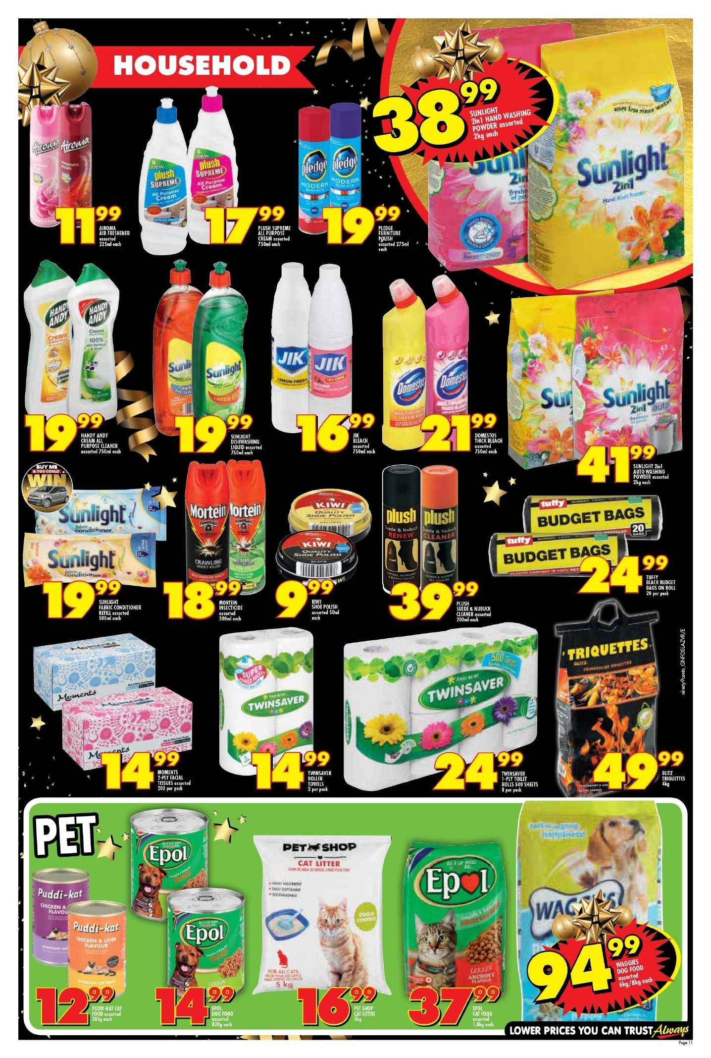 Shoprite catalogue  - 11.22.2018 - 11.25.2018. Page 11.