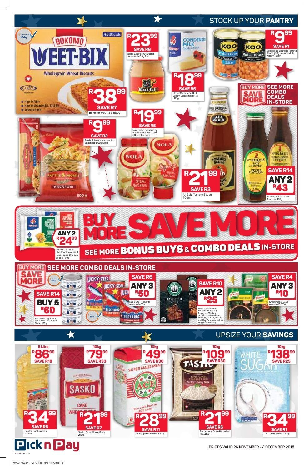 Pick n Pay catalogue  - 11.26.2018 - 12.02.2018. Page 2.