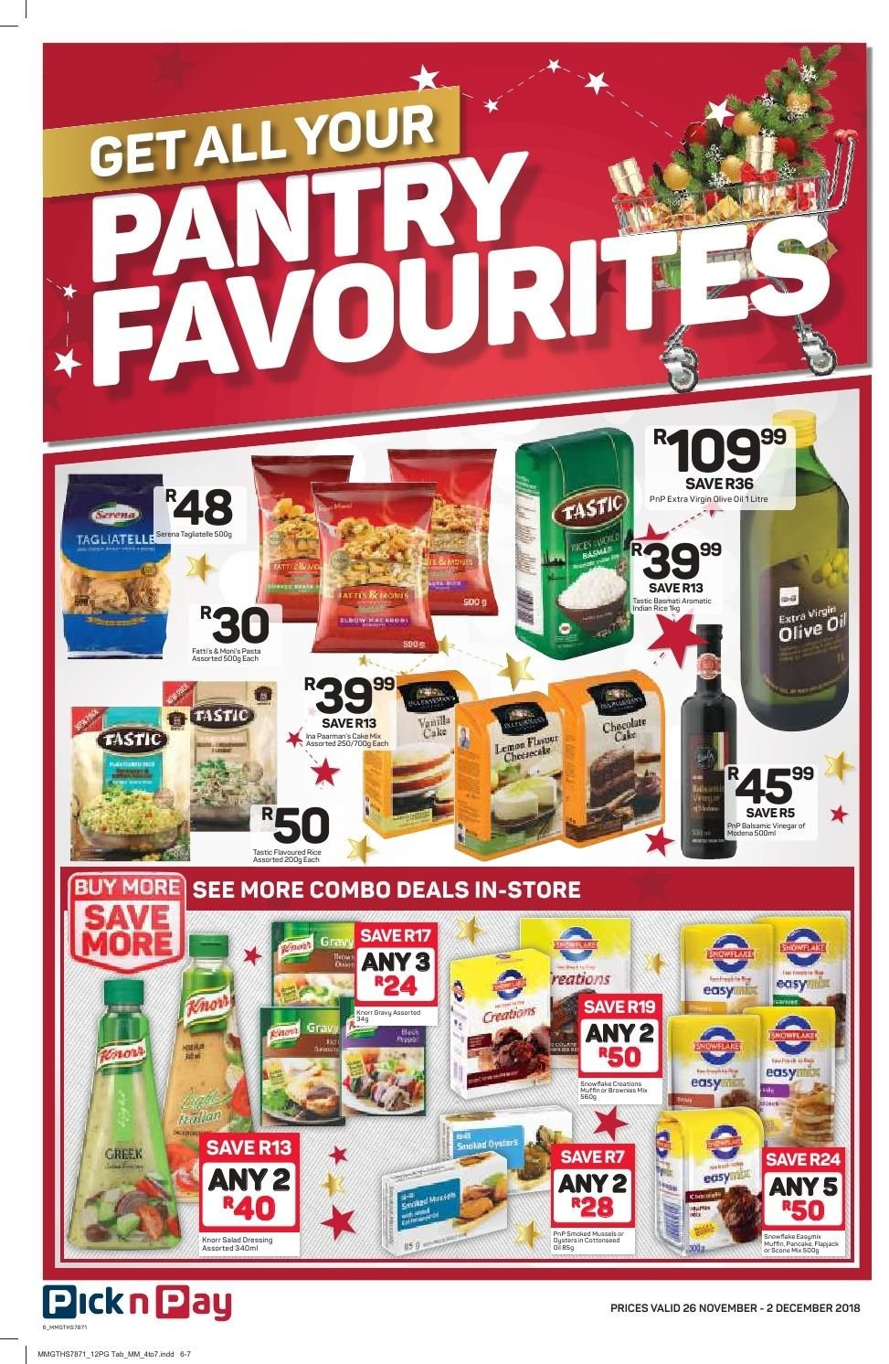 Pick n Pay catalogue  - 11.26.2018 - 12.02.2018. Page 4.