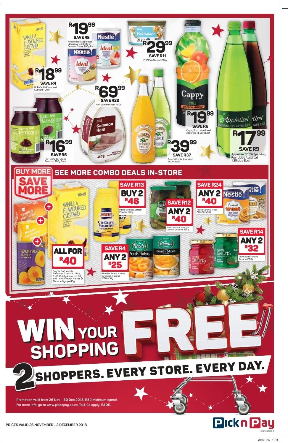 Pick n Pay catalogue  - 11.26.2018 - 12.02.2018. Page 5.