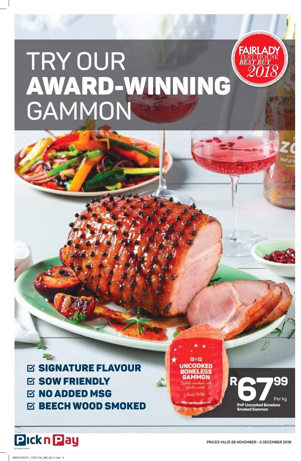 Pick n Pay catalogue  - 11.26.2018 - 12.02.2018. Page 6.