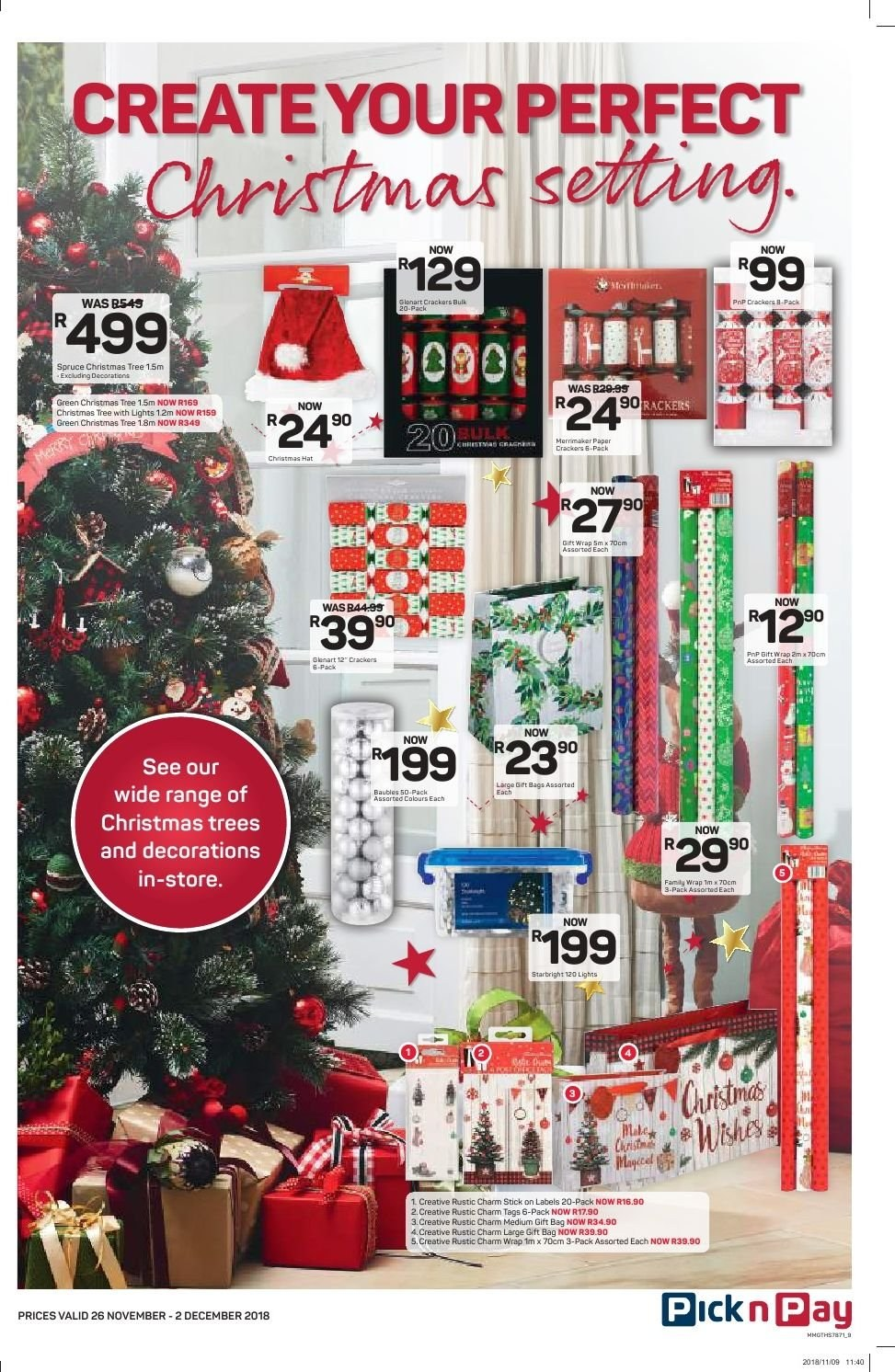Pick n Pay catalogue  - 11.26.2018 - 12.02.2018. Page 7.