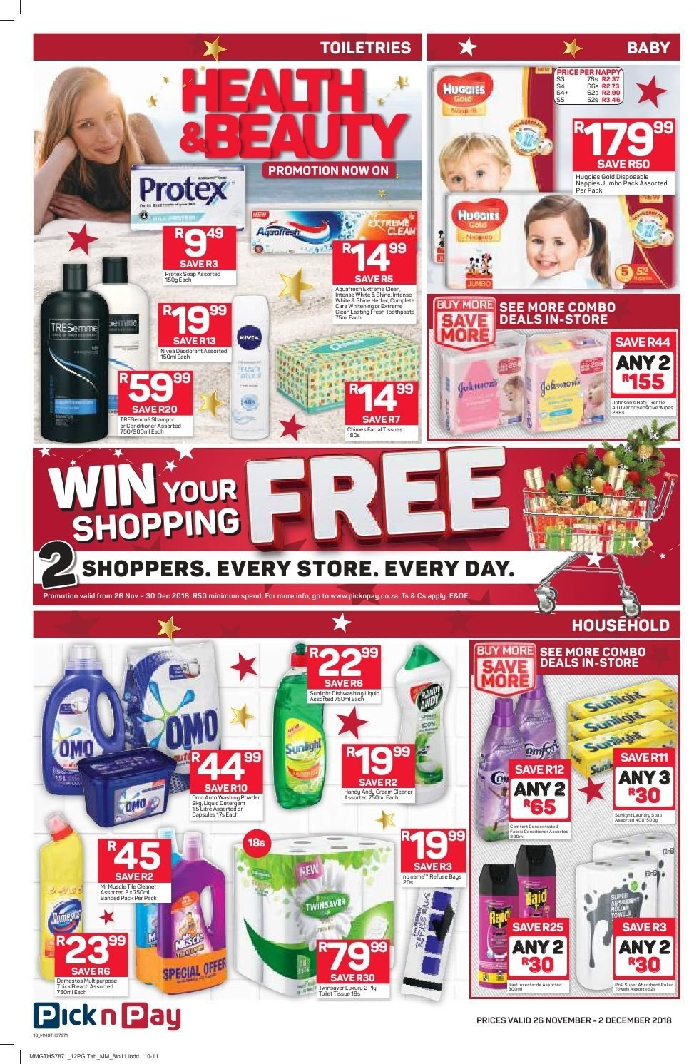 Pick n Pay catalogue  - 11.26.2018 - 12.02.2018. Page 8.