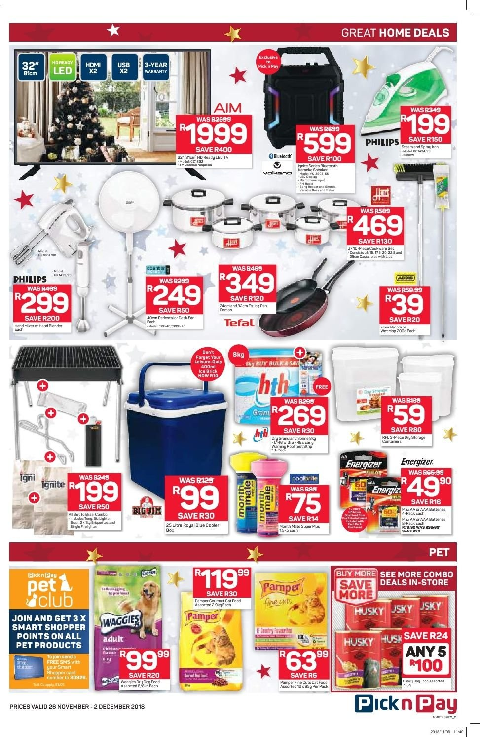 Pick n Pay catalogue  - 11.26.2018 - 12.02.2018. Page 9.