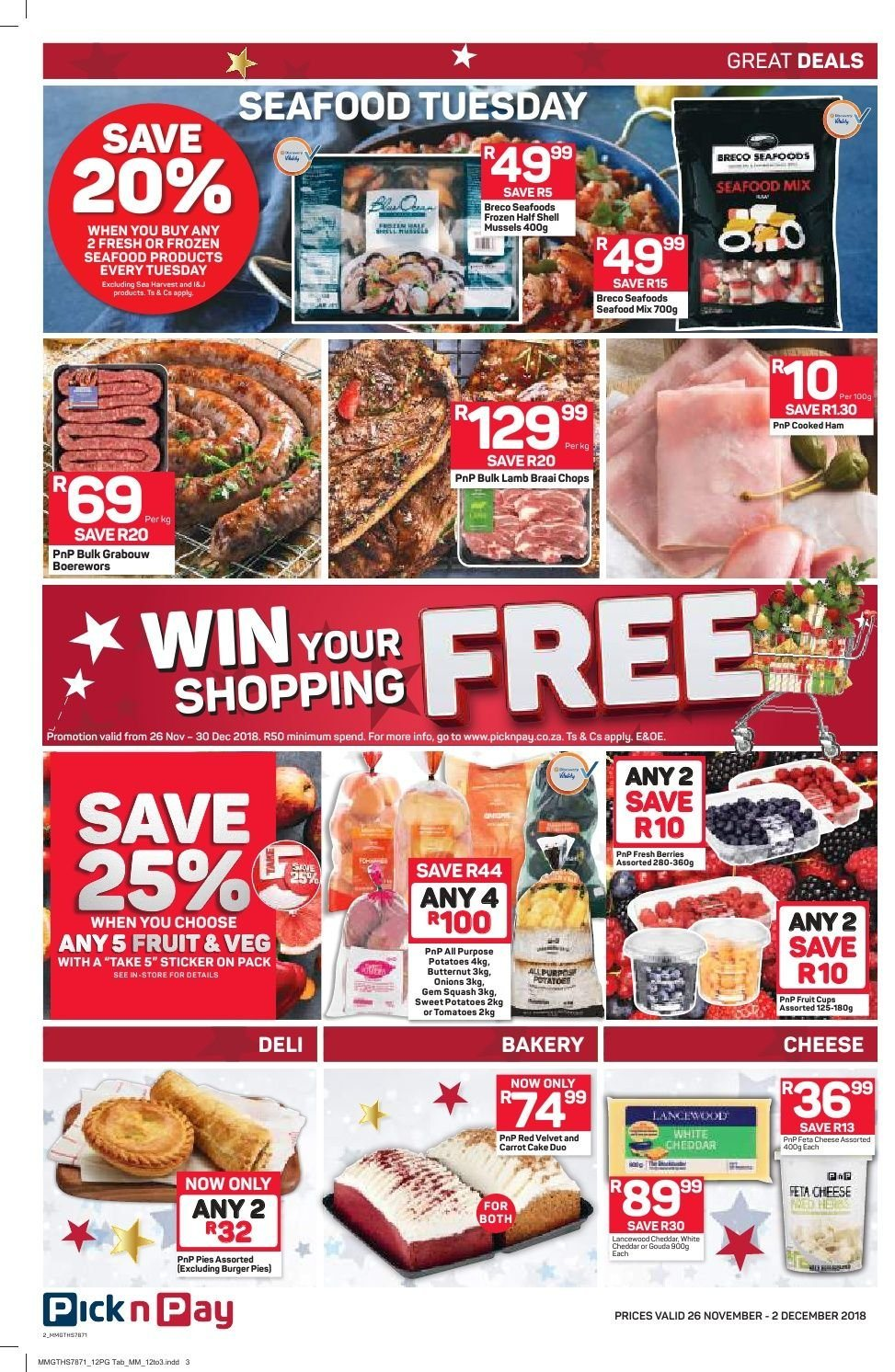 Pick n Pay catalogue  - 11.26.2018 - 12.02.2018. Page 10.