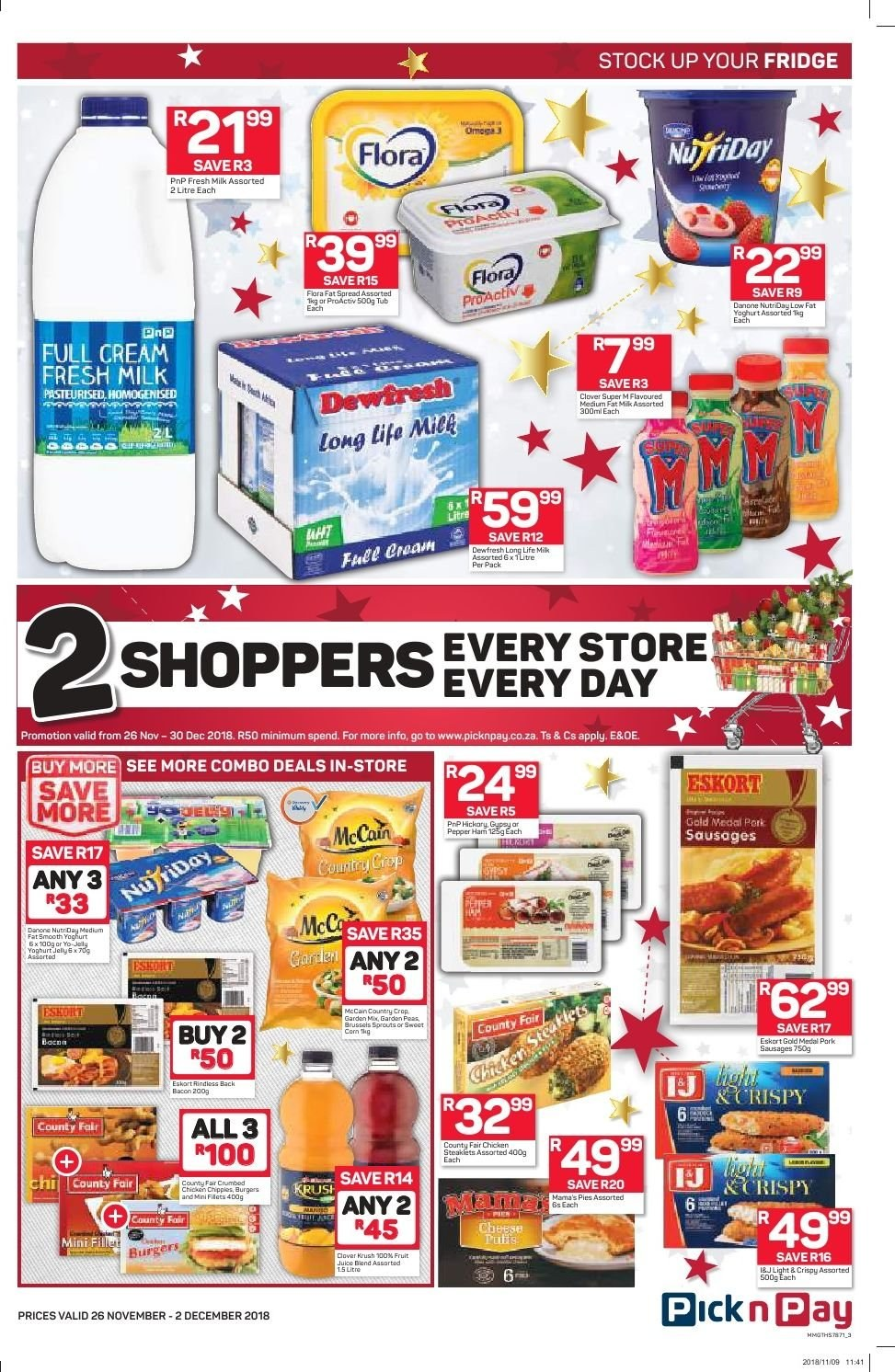 Pick n Pay catalogue  - 11.26.2018 - 12.02.2018. Page 11.