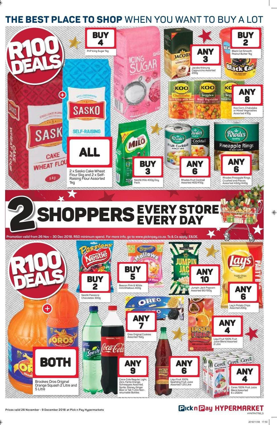 Pick n Pay catalogue  - 11.26.2018 - 12.09.2018. Page 5.