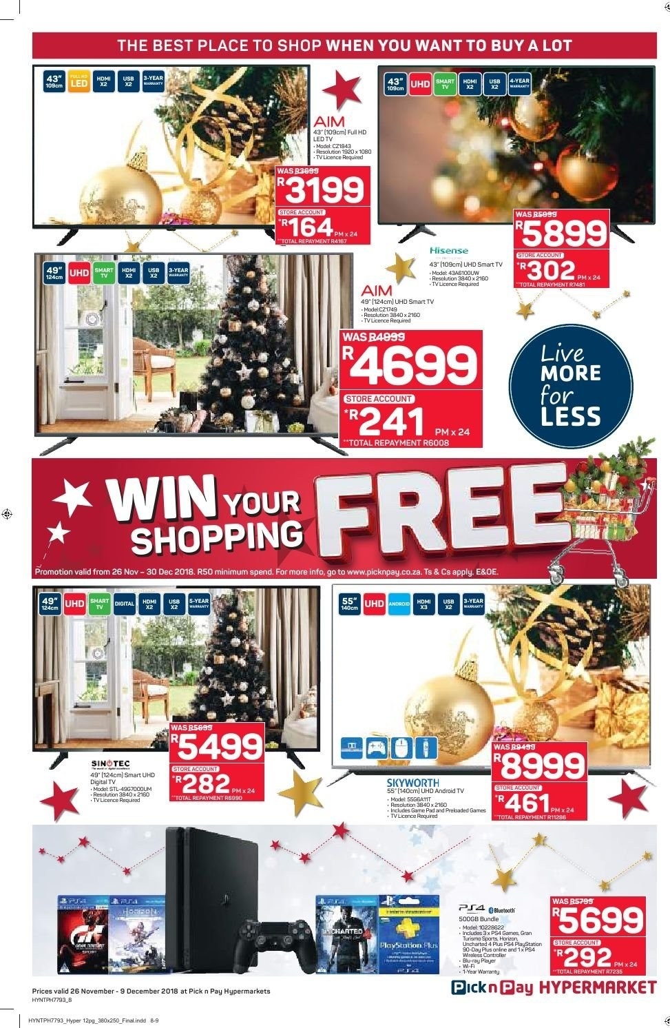 Pick n Pay catalogue  - 11.26.2018 - 12.09.2018. Page 8.