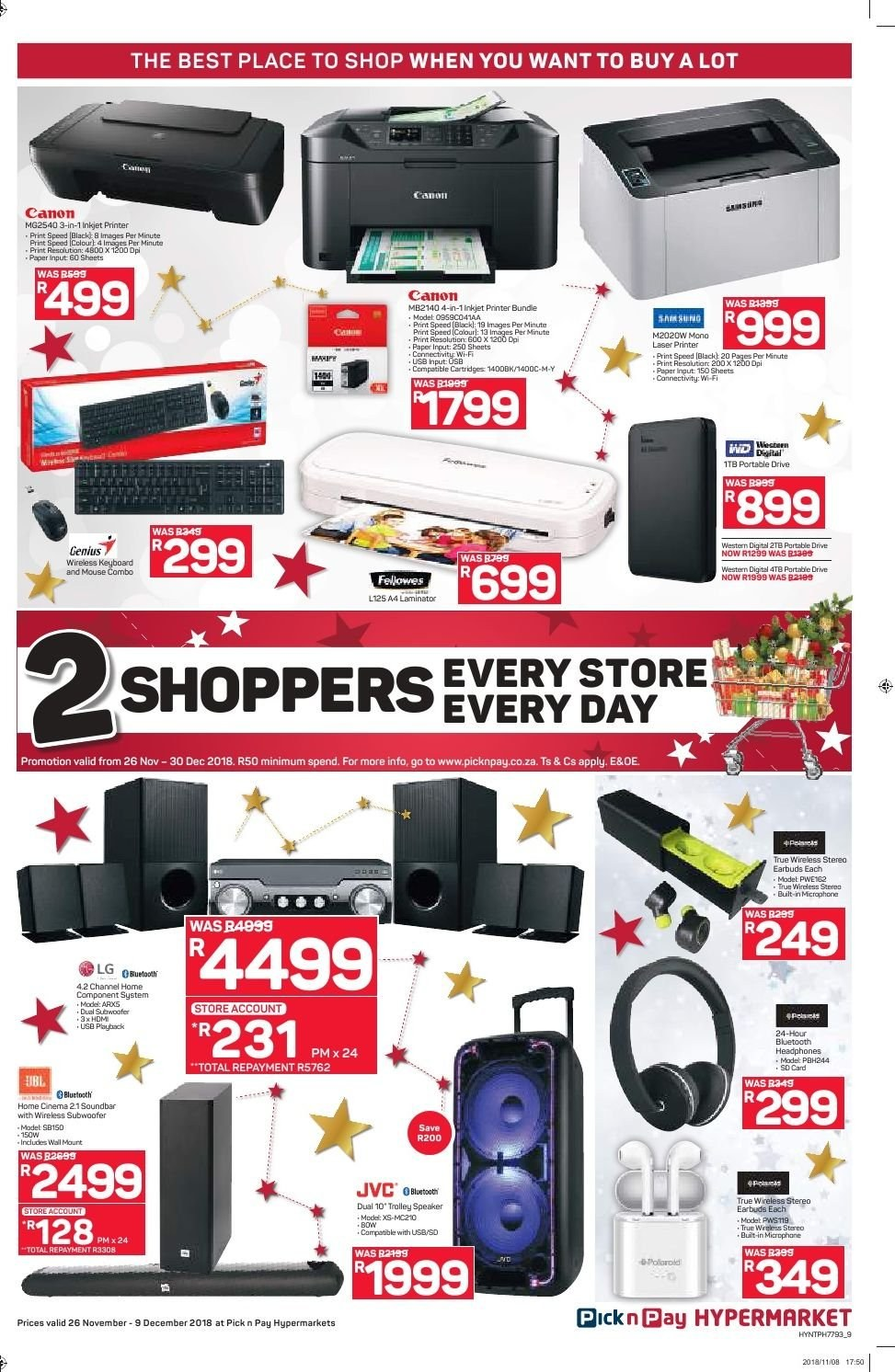 Pick n Pay catalogue  - 11.26.2018 - 12.09.2018. Page 9.