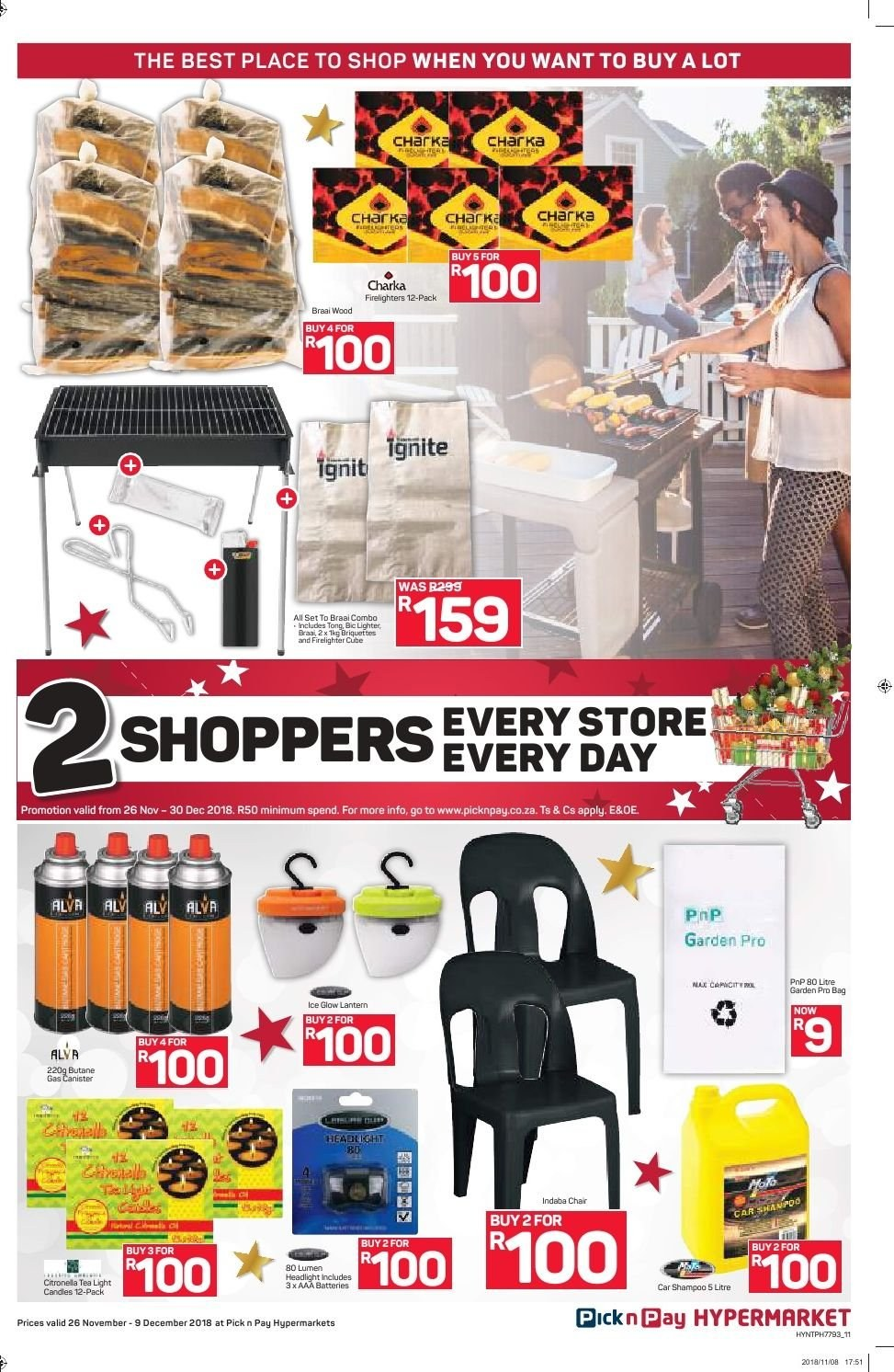 Pick n Pay catalogue  - 11.26.2018 - 12.09.2018. Page 11.