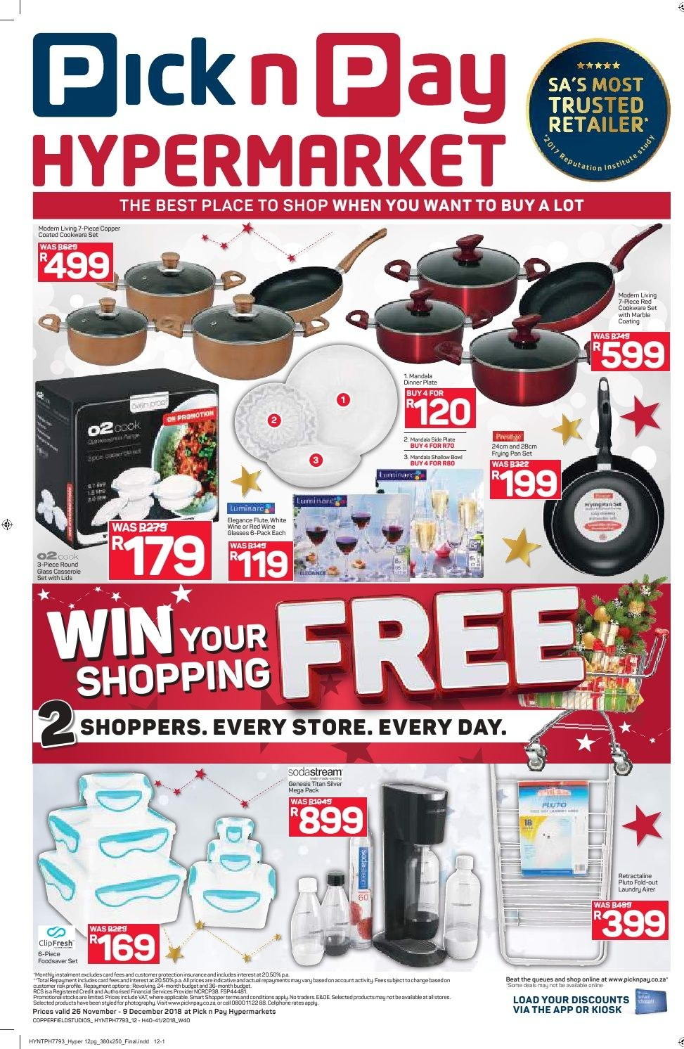 Pick n Pay catalogue  - 11.26.2018 - 12.09.2018. Page 12.