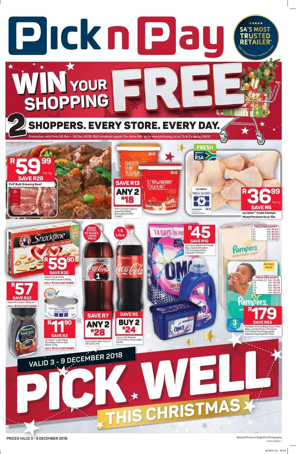 Pick n Pay catalogue  - 12.03.2018 - 12.09.2018. Page 1.