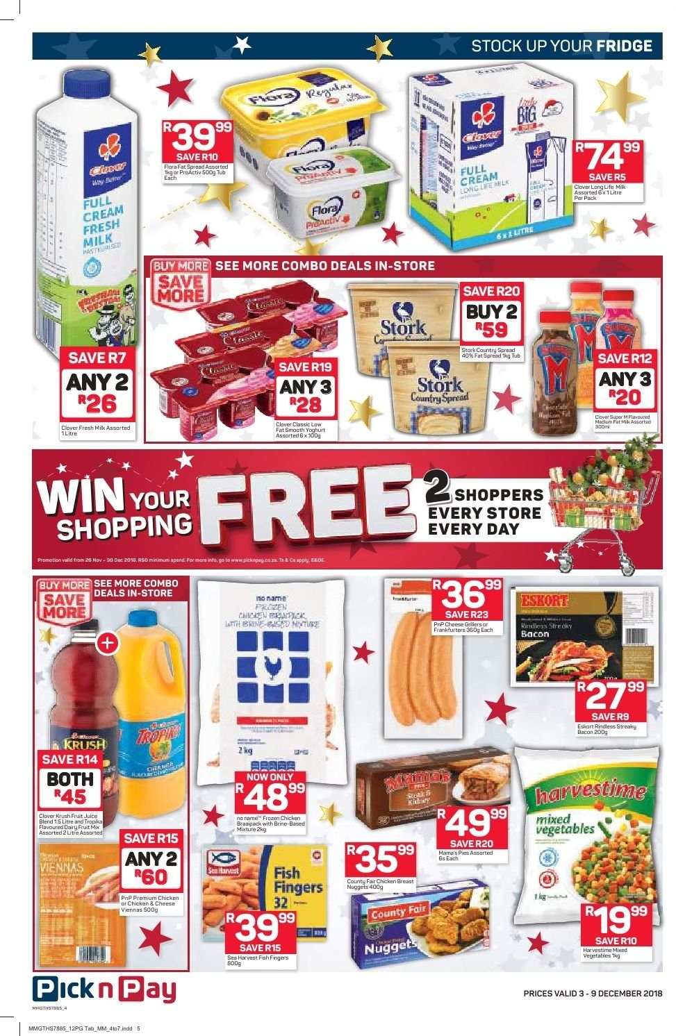 Pick n Pay catalogue  - 12.03.2018 - 12.09.2018. Page 2.