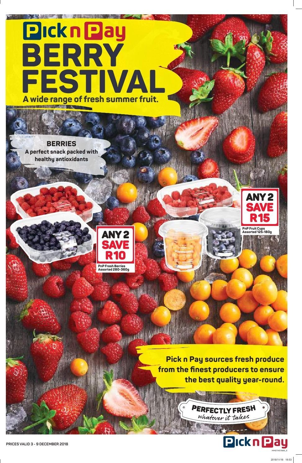Pick n Pay catalogue  - 12.03.2018 - 12.09.2018. Page 3.