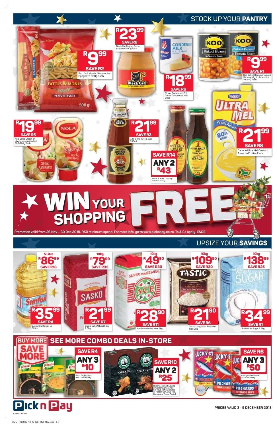 Pick n Pay catalogue  - 12.03.2018 - 12.09.2018. Page 4.