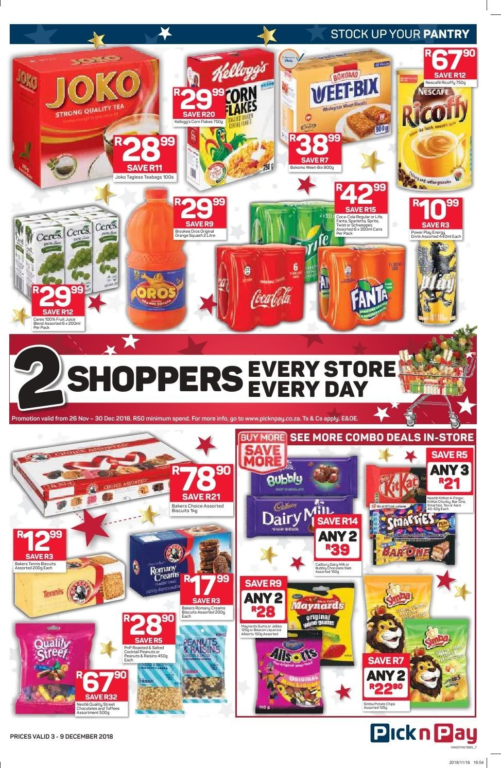 Pick n Pay catalogue  - 12.03.2018 - 12.09.2018. Page 5.