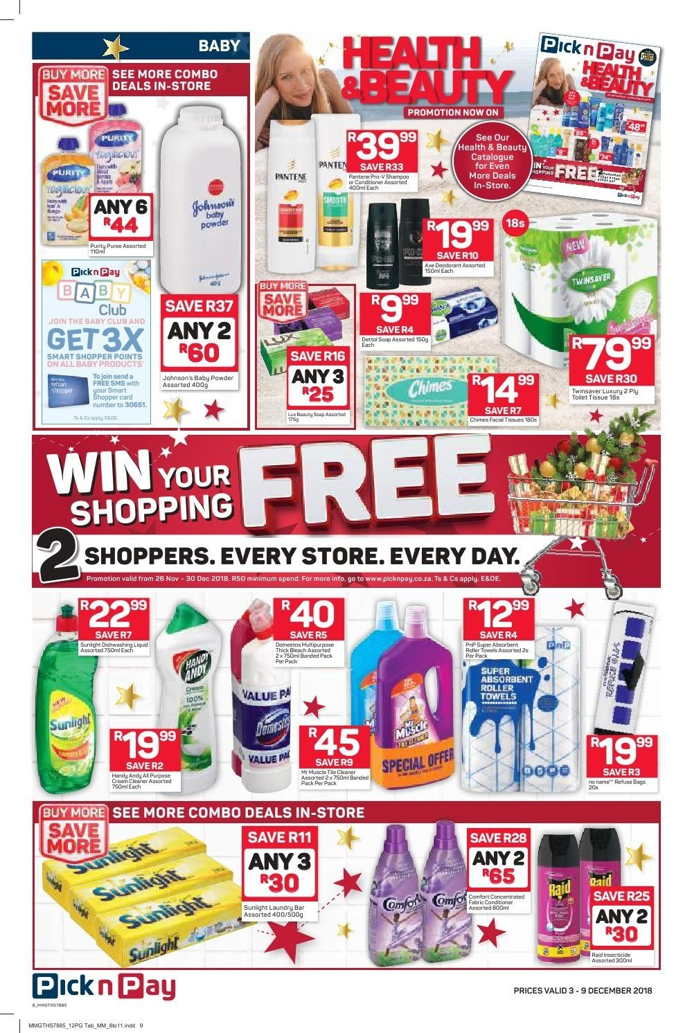 Pick n Pay catalogue  - 12.03.2018 - 12.09.2018. Page 6.