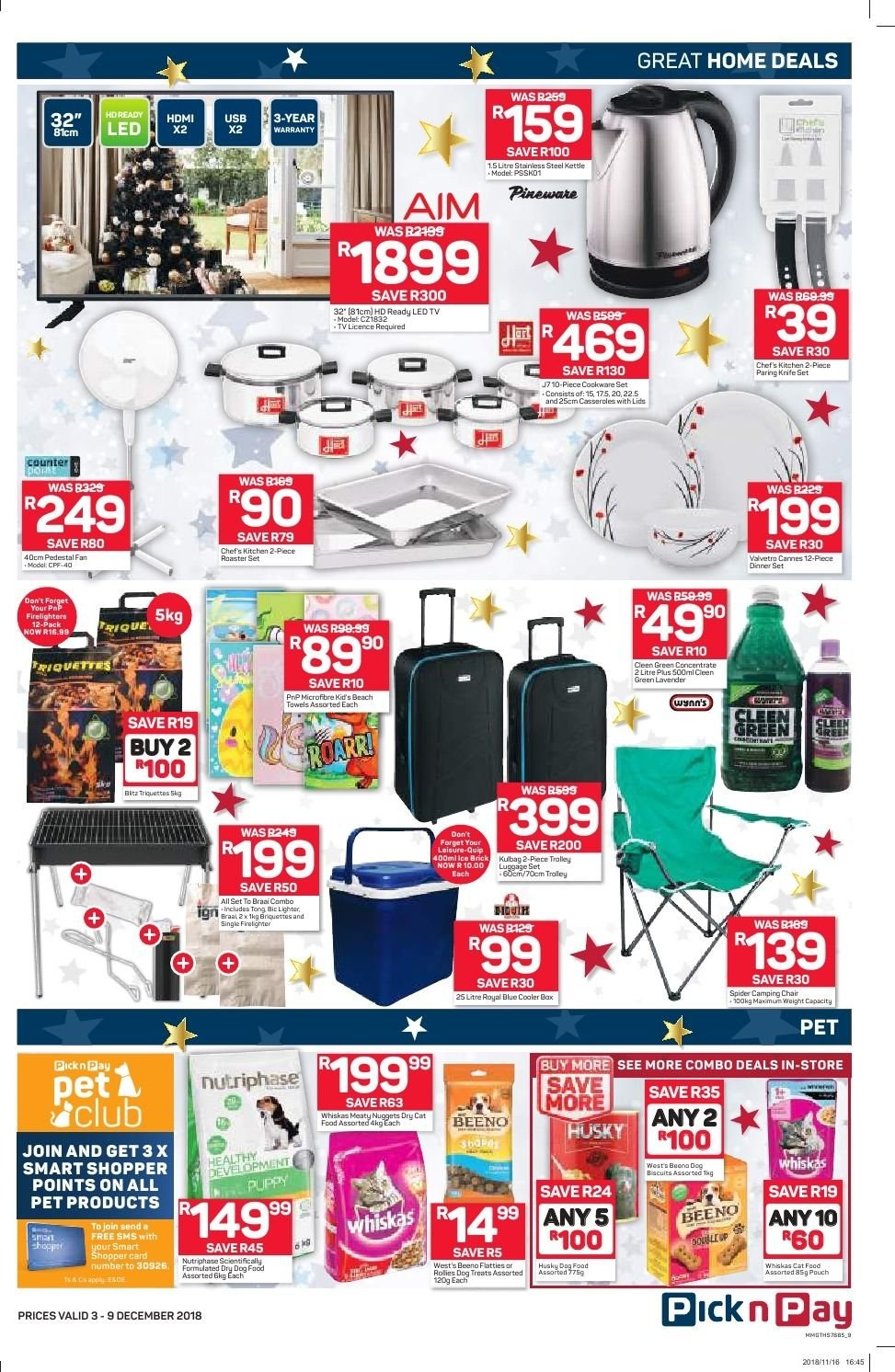 Pick n Pay catalogue  - 12.03.2018 - 12.09.2018. Page 7.