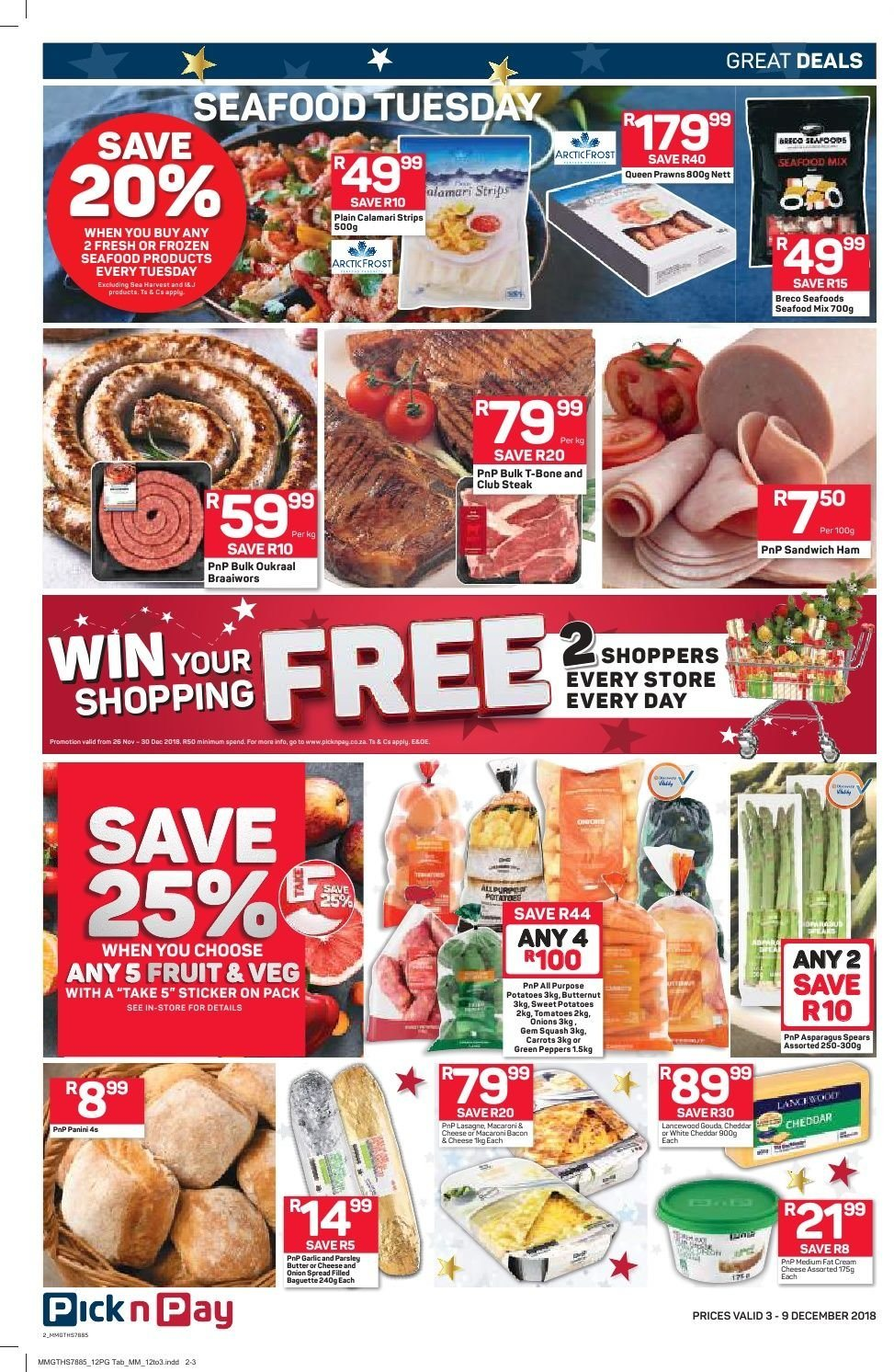 Pick n Pay catalogue  - 12.03.2018 - 12.09.2018. Page 10.