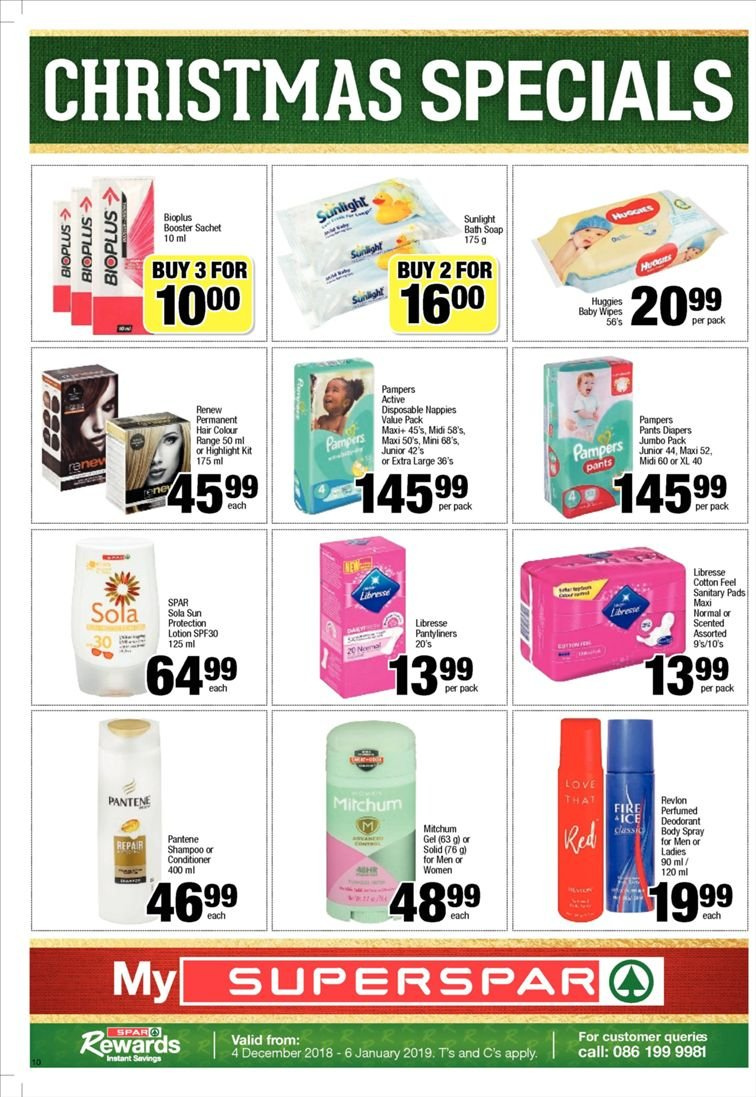 SPAR catalogue  - 12.10.2018 - 12.23.2018. Page 10.