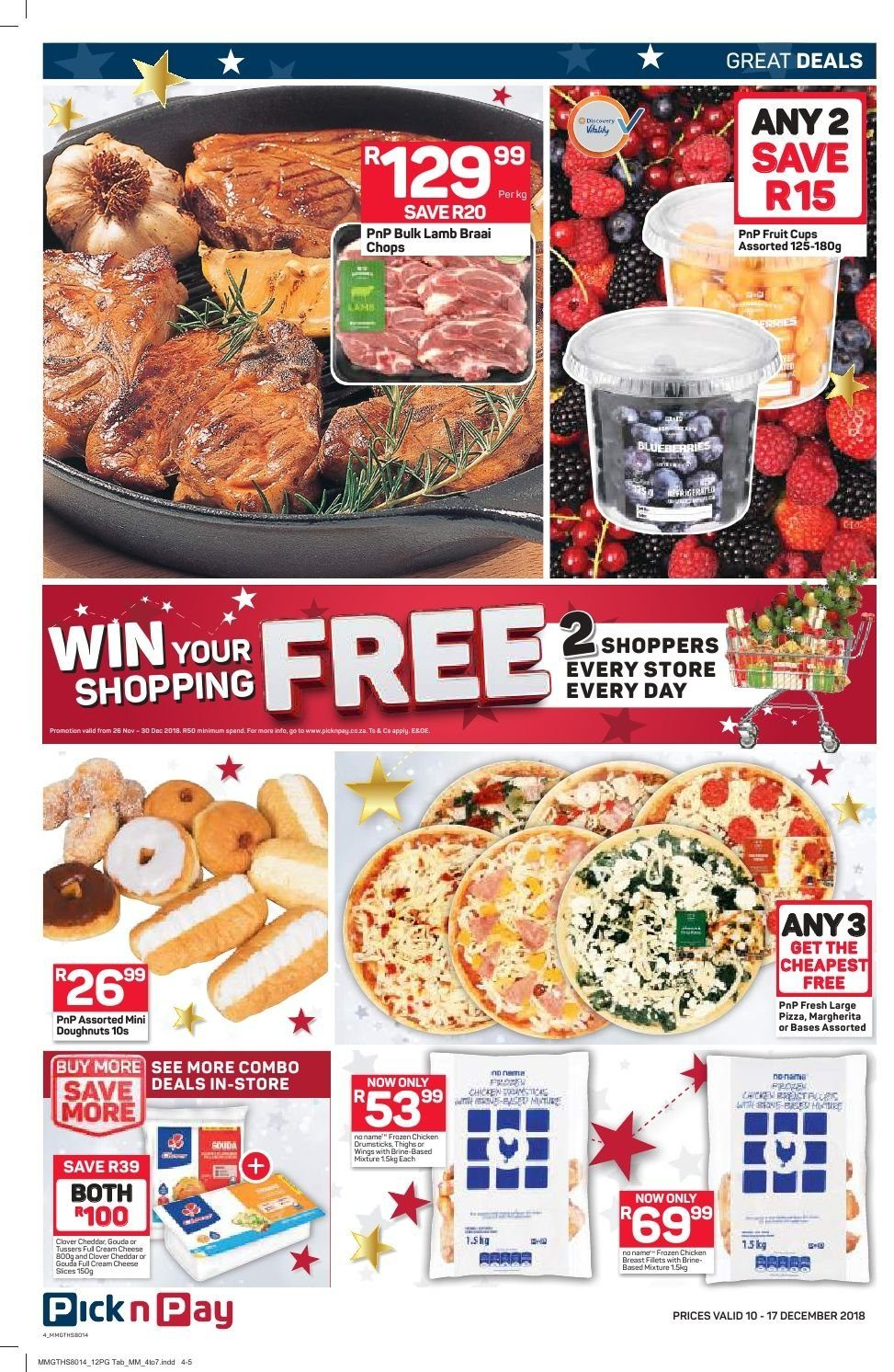 Pick n Pay catalogue  - 12.10.2018 - 12.17.2018. Page 2.