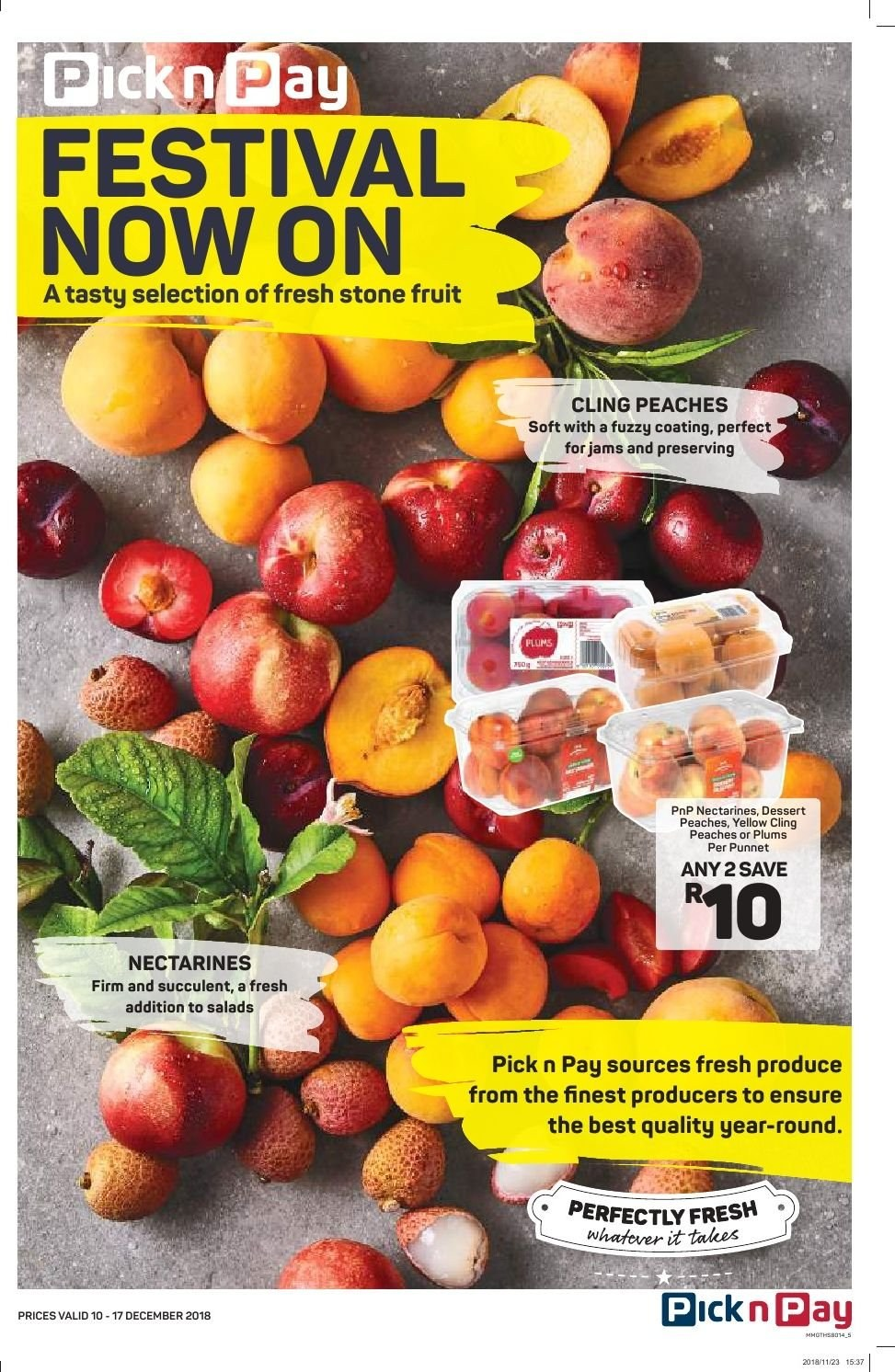 Pick n Pay catalogue  - 12.10.2018 - 12.17.2018. Page 3.
