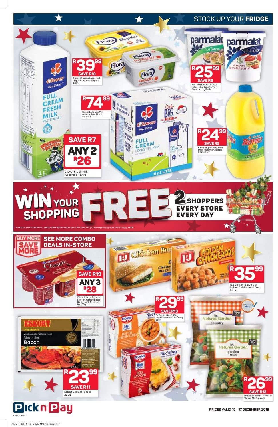 Pick n Pay catalogue  - 12.10.2018 - 12.17.2018. Page 4.