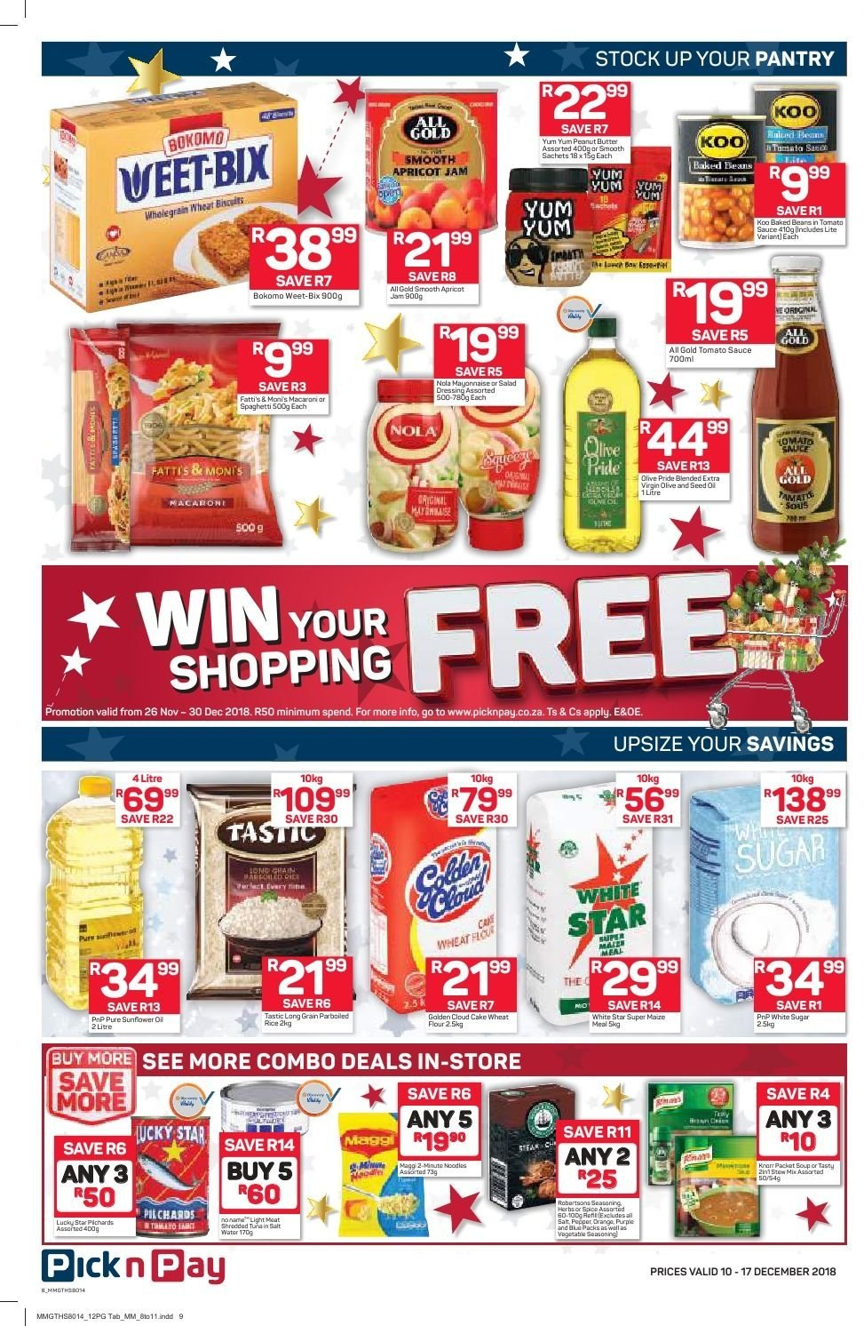 Pick n Pay catalogue  - 12.10.2018 - 12.17.2018. Page 6.
