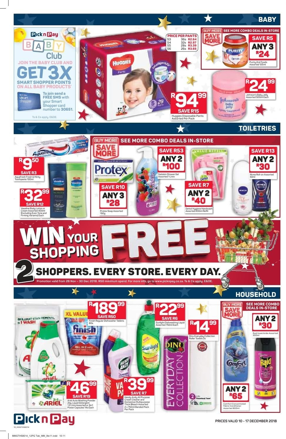 Pick n Pay catalogue  - 12.10.2018 - 12.17.2018. Page 8.