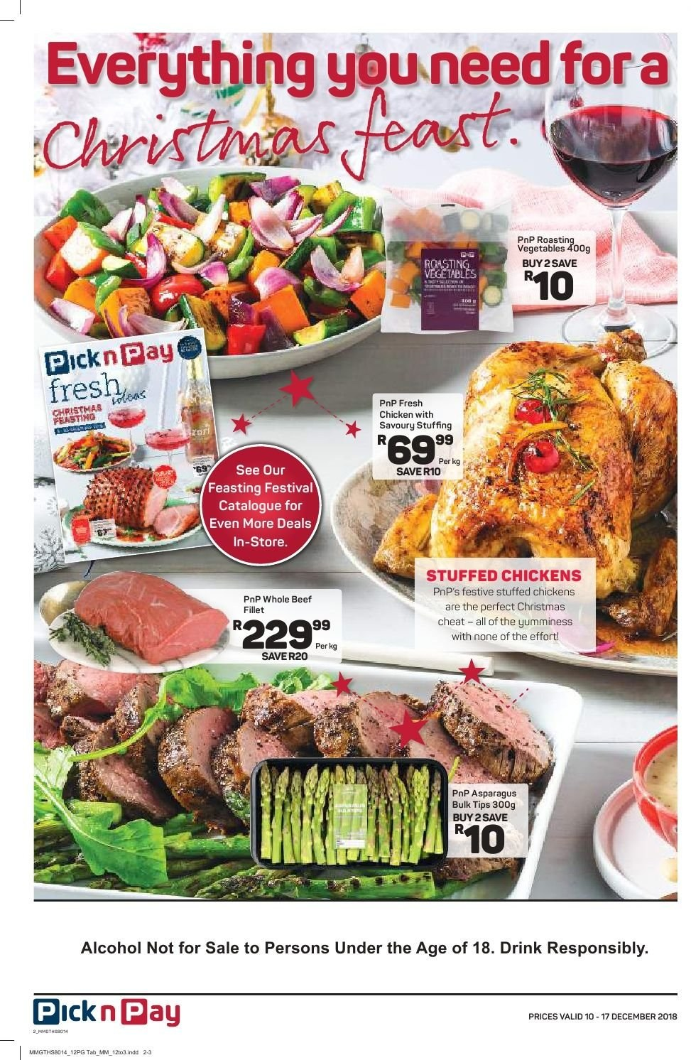 Pick n Pay catalogue  - 12.10.2018 - 12.17.2018. Page 10.