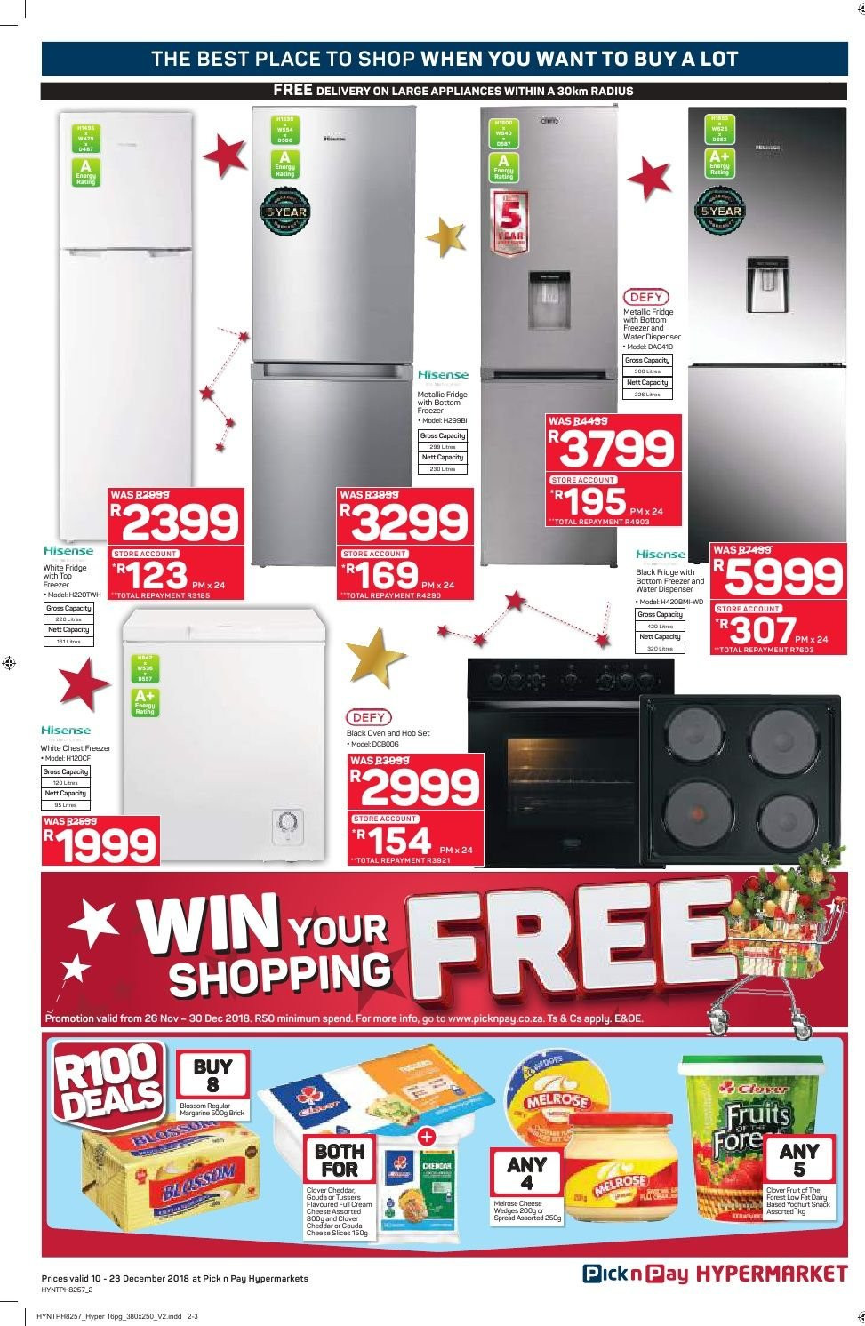 Pick n Pay catalogue  - 12.10.2018 - 12.23.2018. Page 2.