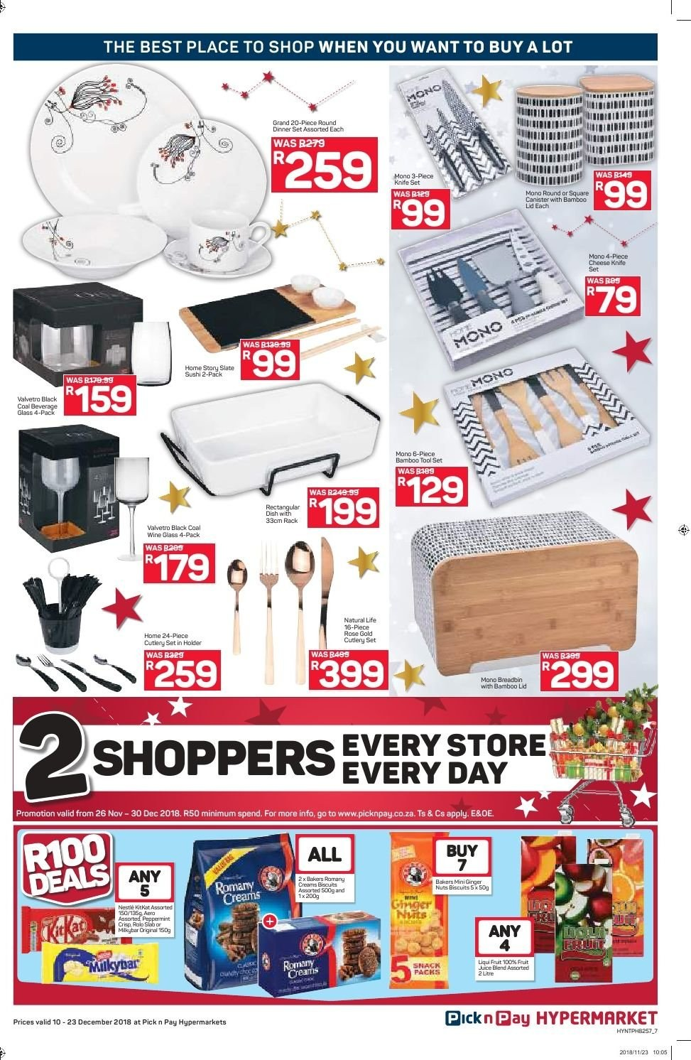 Pick n Pay catalogue  - 12.10.2018 - 12.23.2018. Page 7.