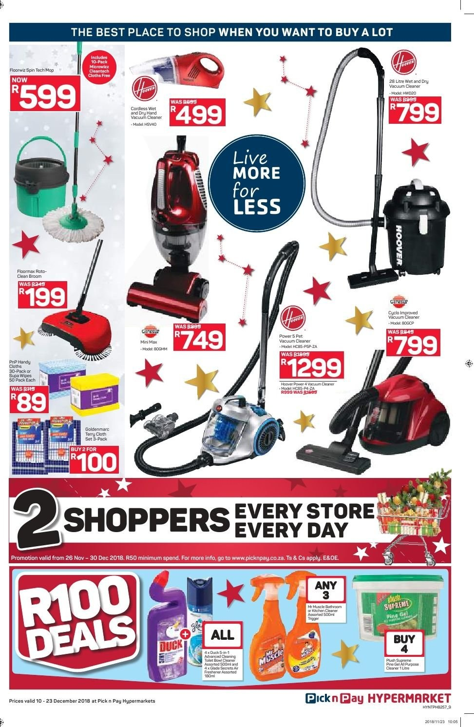 Pick n Pay catalogue  - 12.10.2018 - 12.23.2018. Page 9.