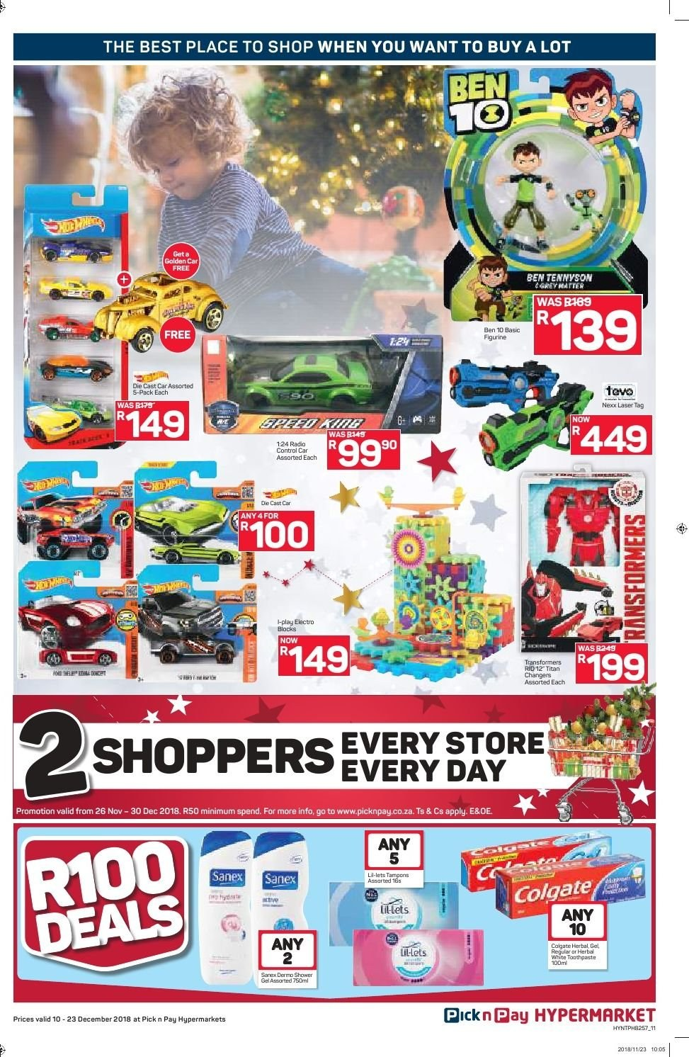 Pick n Pay catalogue  - 12.10.2018 - 12.23.2018. Page 11.