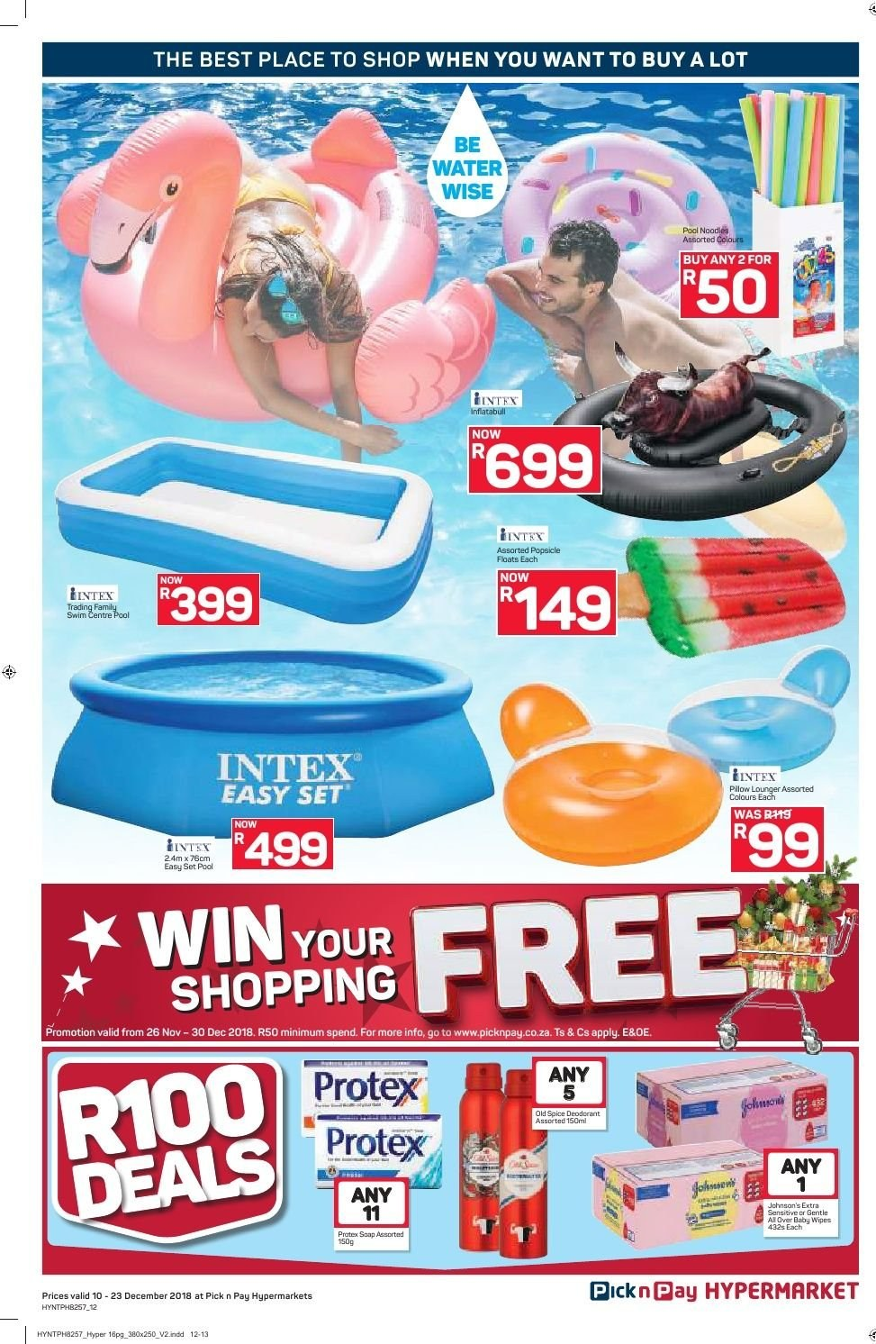 Pick n Pay catalogue  - 12.10.2018 - 12.23.2018. Page 12.