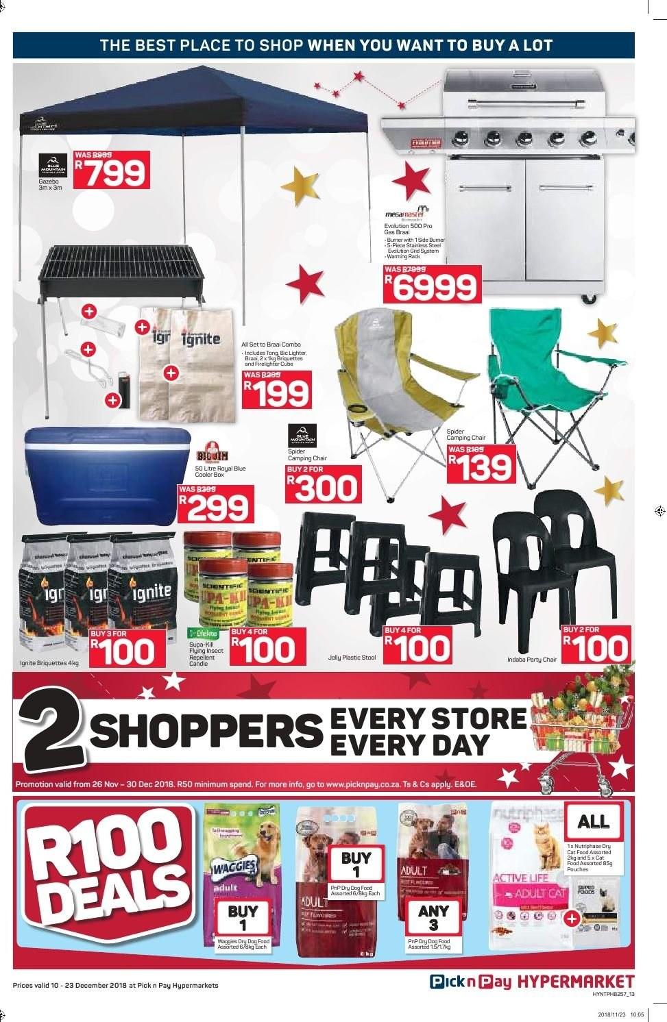 Pick n Pay catalogue  - 12.10.2018 - 12.23.2018. Page 13.