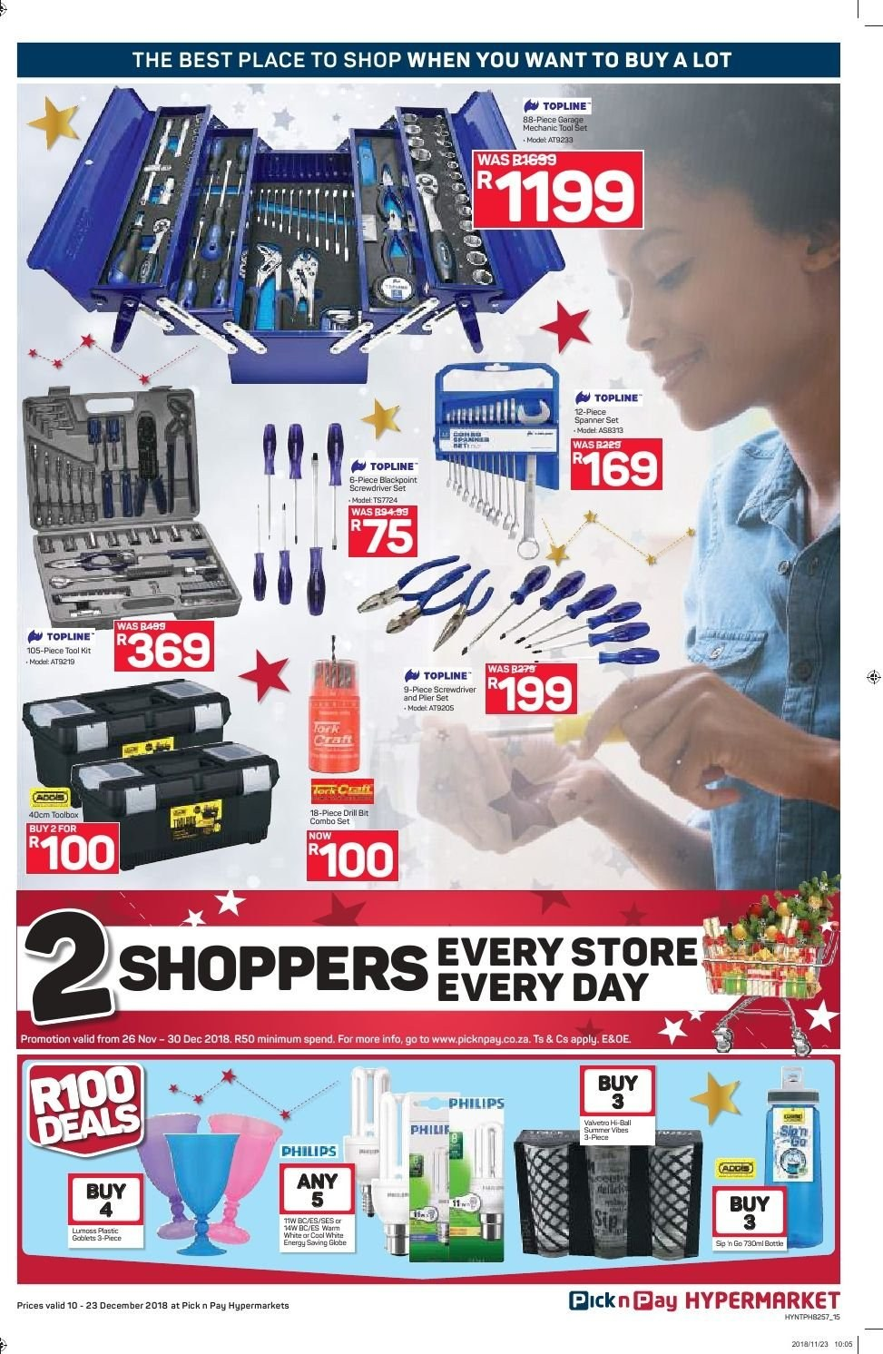 Pick n Pay catalogue  - 12.10.2018 - 12.23.2018. Page 15.