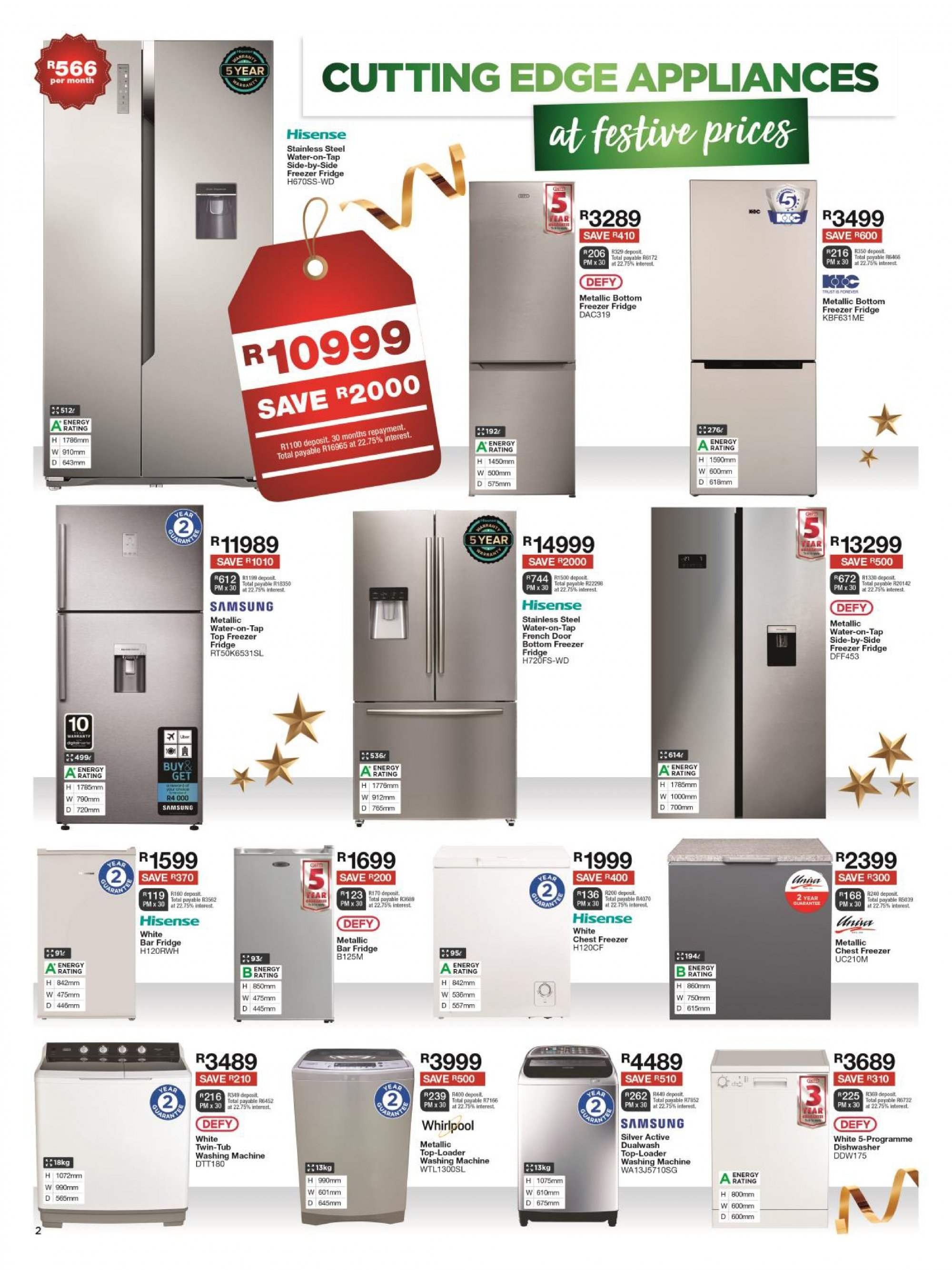 House & Home catalogue  - 12.10.2018 - 12.24.2018. Page 2.