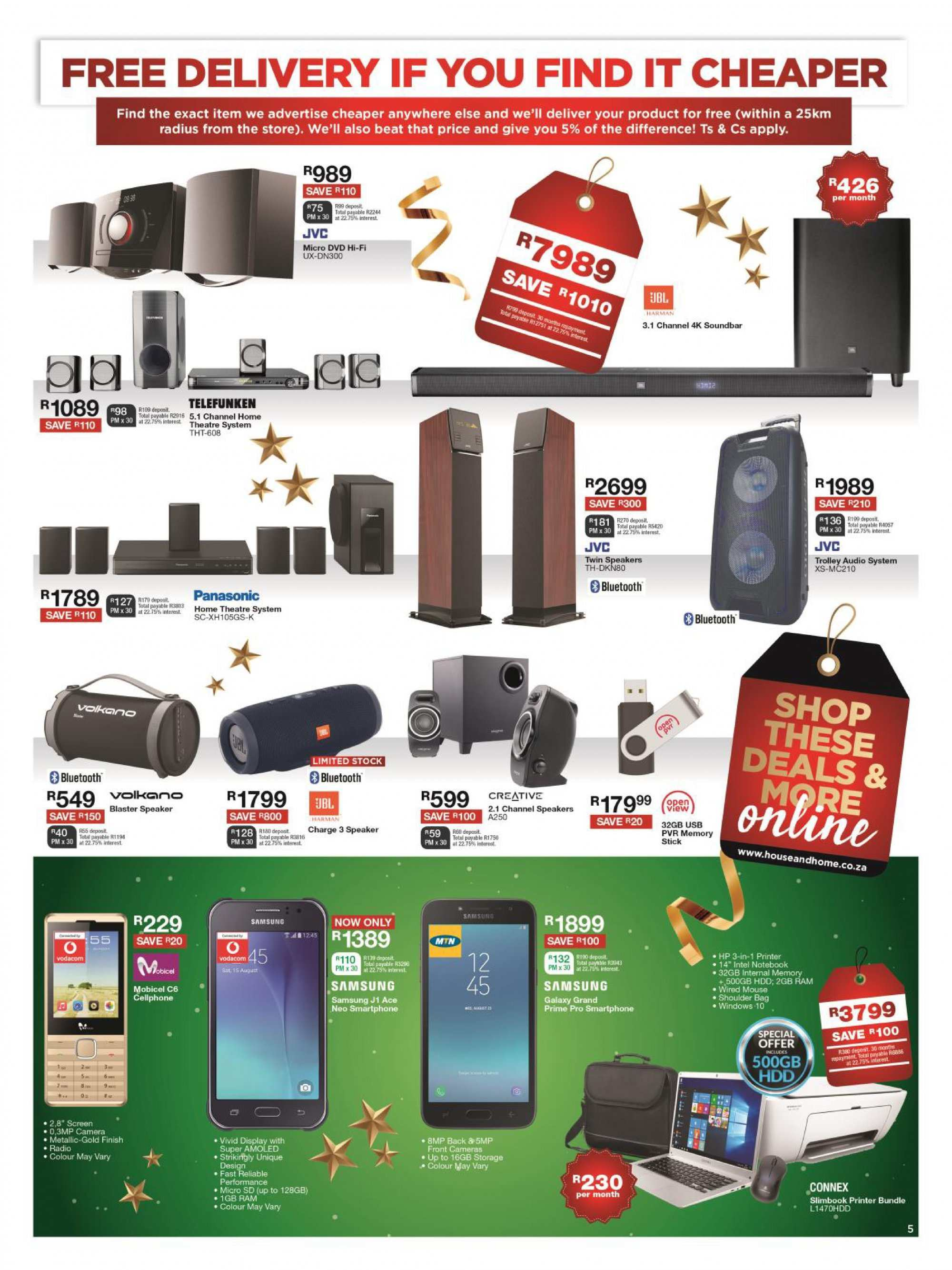 House & Home catalogue  - 12.10.2018 - 12.24.2018. Page 5.