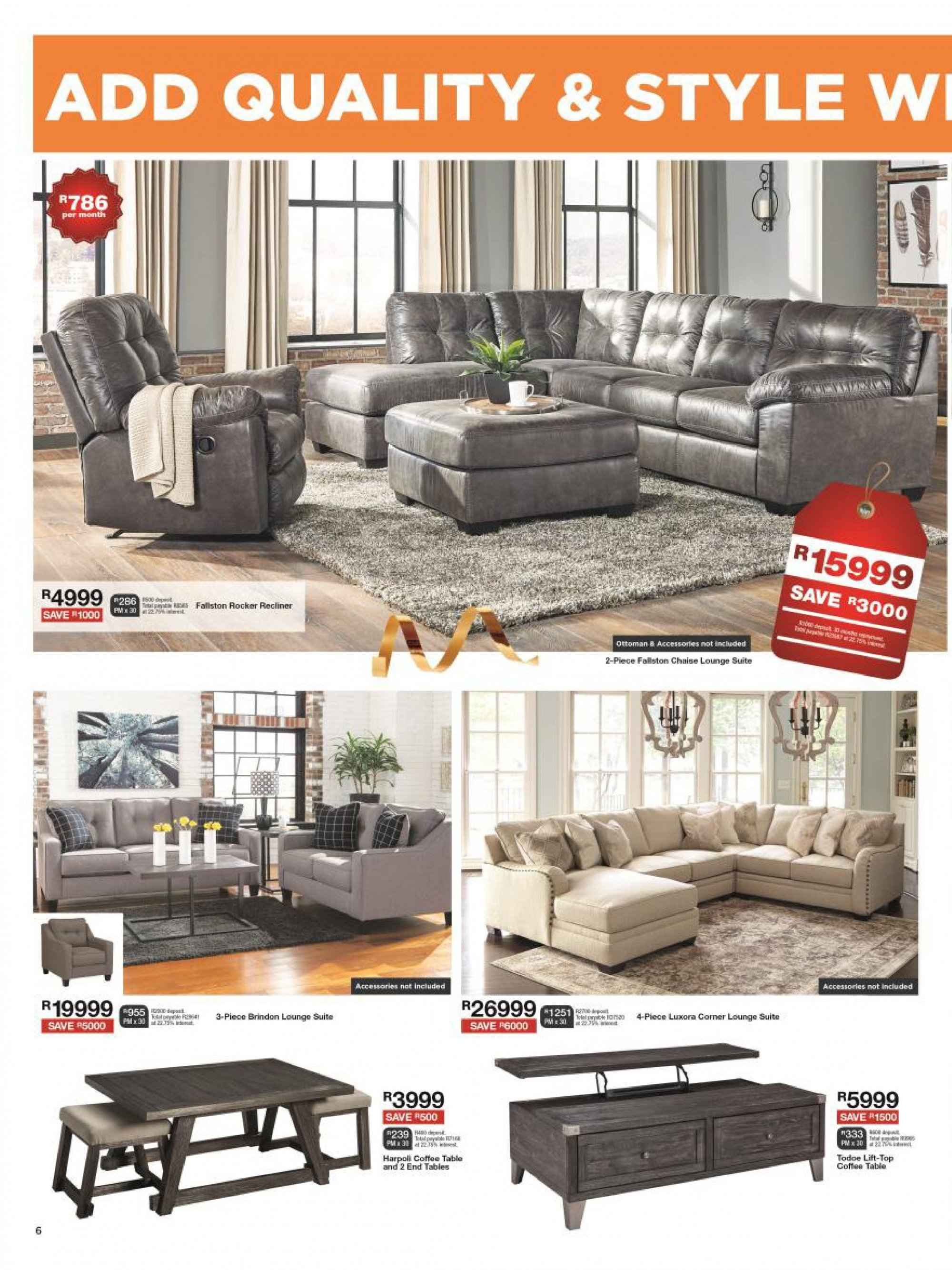 House & Home catalogue  - 12.10.2018 - 12.24.2018. Page 6.